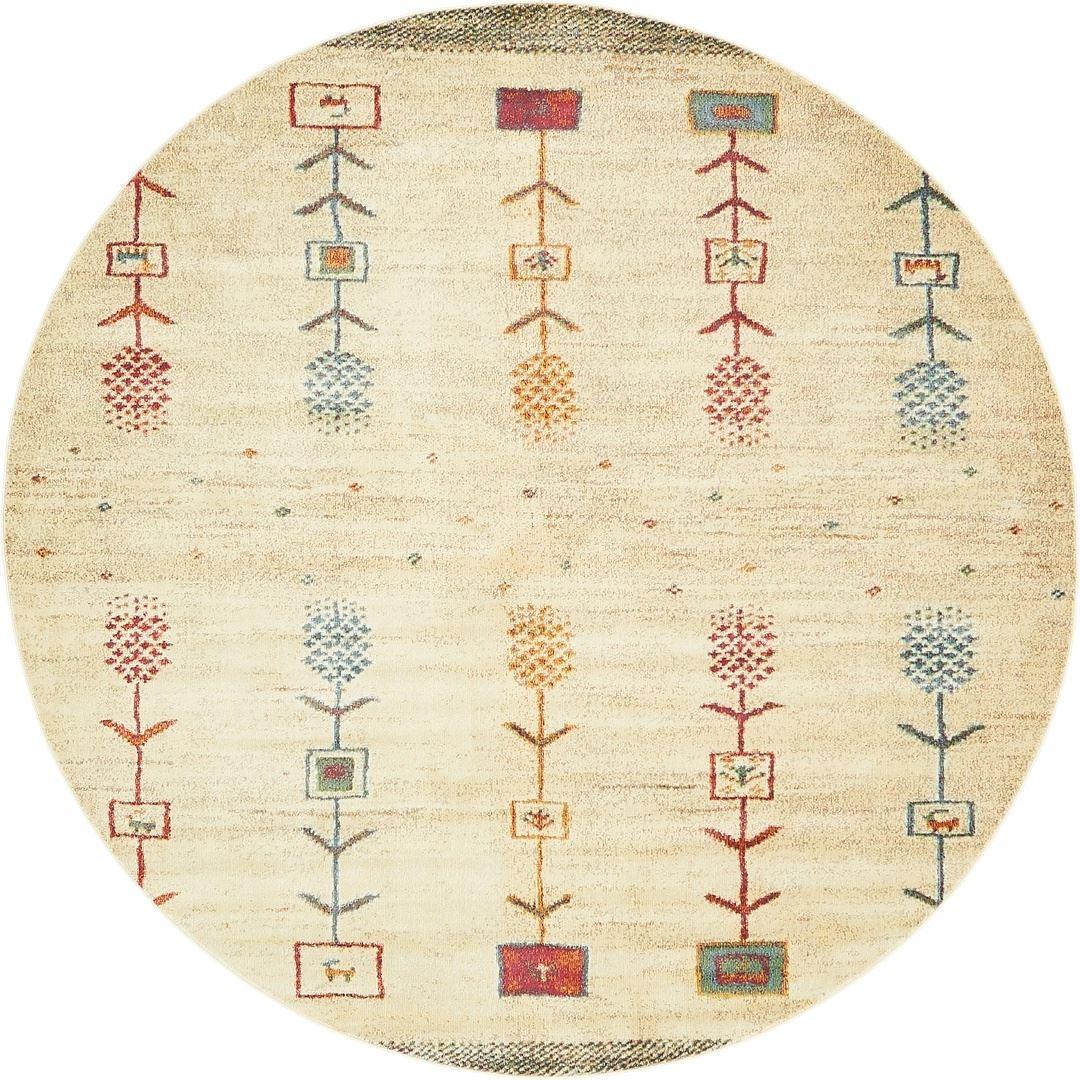 Minimalist Colorful Rug Designs: Modern Contemporary Minimalistic Aztec Inspired Multi