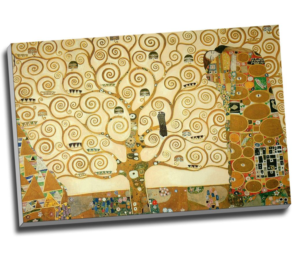 Gustav Klimt The Tree of Life Canvas Print Wall Art 30x20\