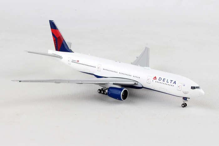 GEMINI JETS 1 400 DELTA 777-200LR 1 400 REG N708DN   BN   GJ1819