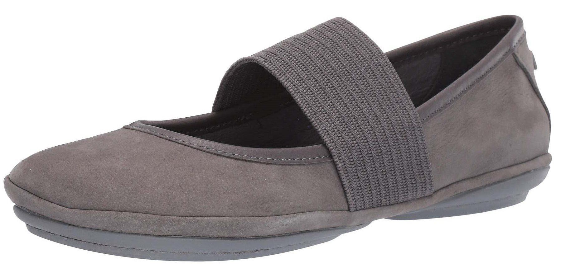 Camper Right Nina 21595 Medium Grey Womens Leather shoes