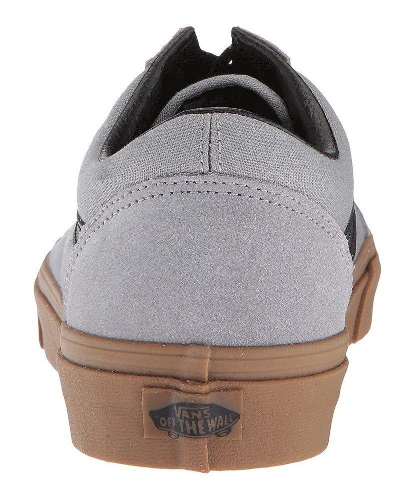 Vans Vans Vans Old Skool Grau Gum Herrens WildLeder Skate Sneakers 409b3c