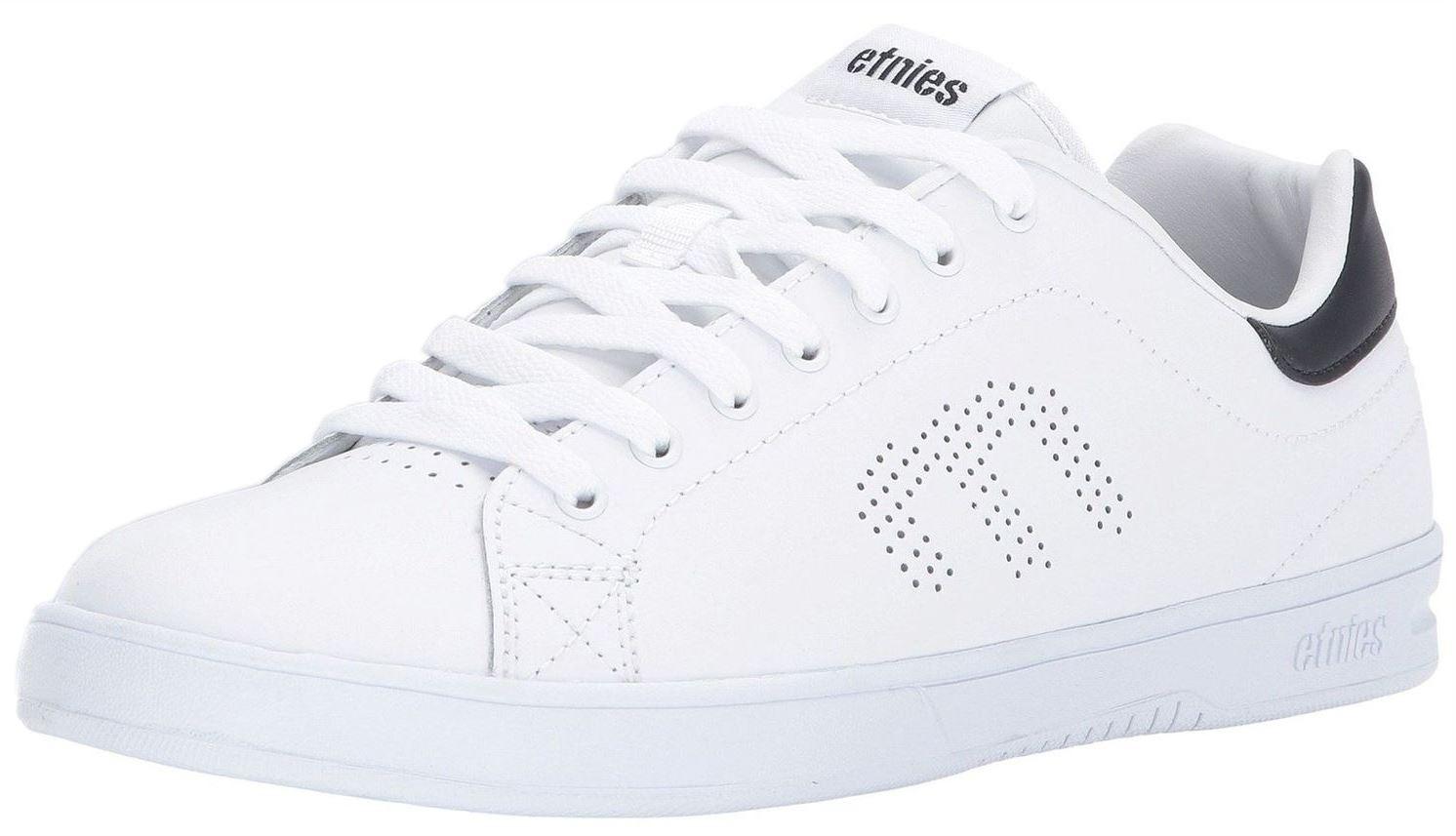 Etnies Callicut LS Weiß Marine Herrens Leder Skate Sneakers