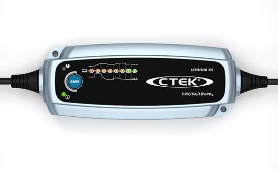 Details about CTEK Lithium XS 12v 5A Smart Battery Charger For LiFePO4  Batteries 8 Stage