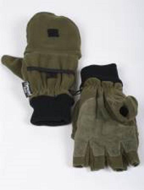 Graninge G6030 Escursioni Invernali Guanti Pesca Palmo in in Palmo Pelle Guanti senza dita M XL 0328cb