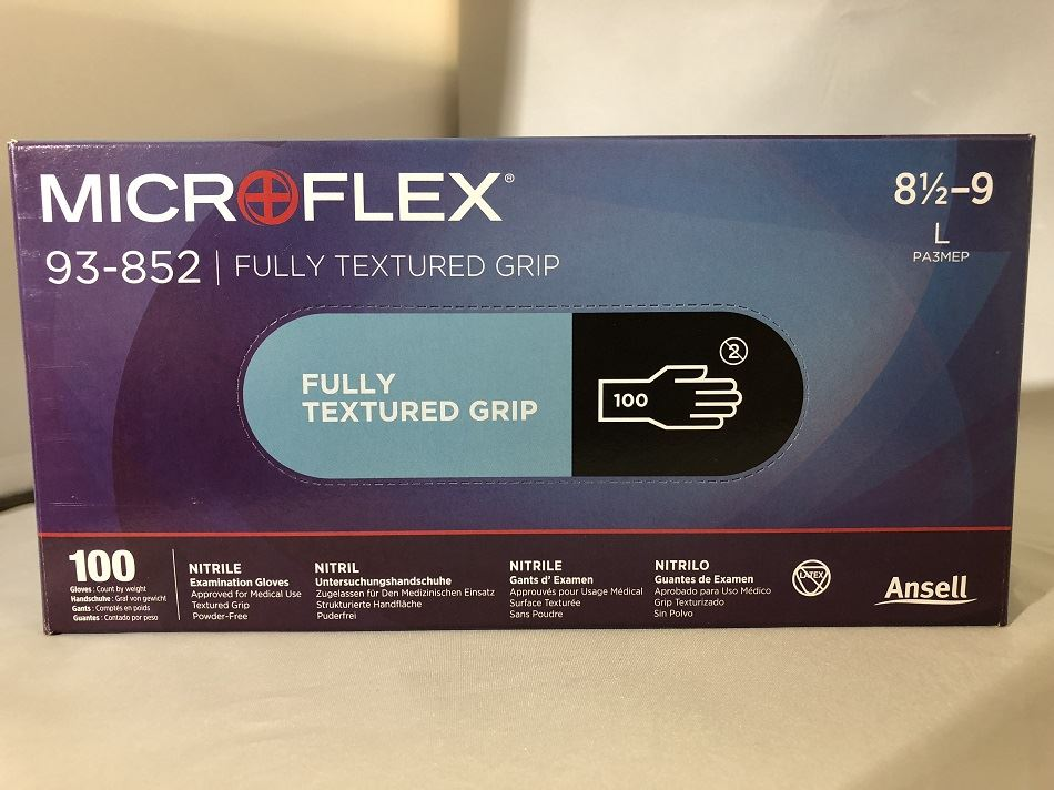 "PK-100 Ansell 92-500 Touch N Tuff Gloves 9.1//2-10/"""