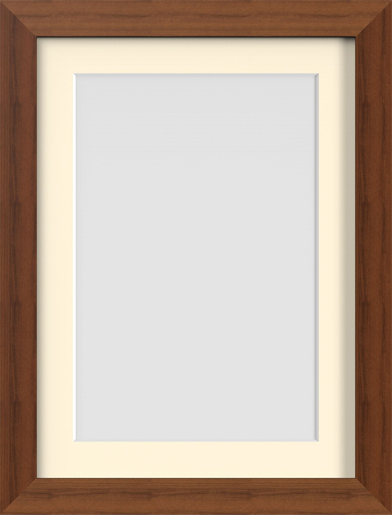 Dark Oak Teak Brown Mahogany Photo Picture Frames Poster frame with ...