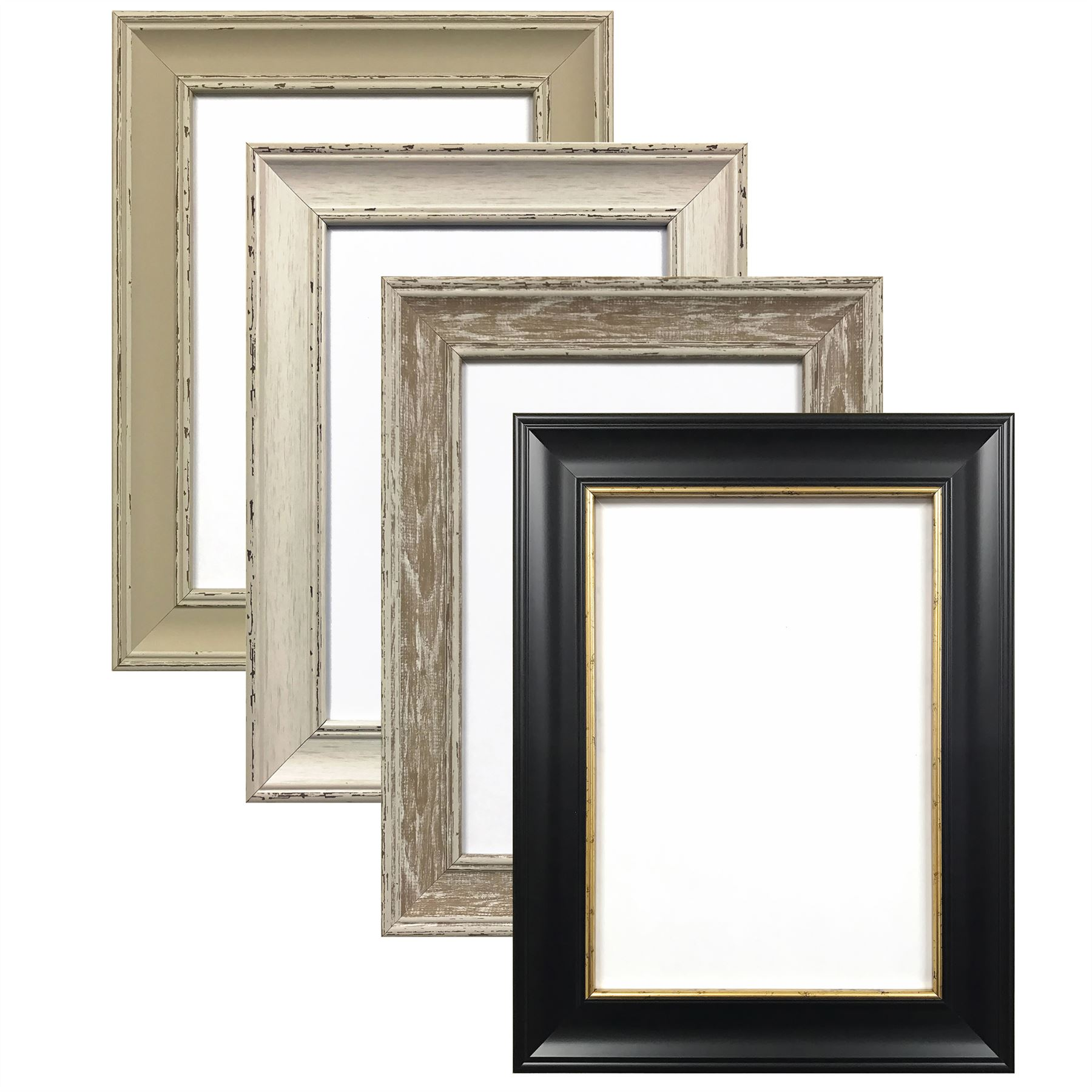 A4 picture frames ebay shabby chic photo frame picture poster frames black white walnut a1 a2 a3 a4 a5 jeuxipadfo Images