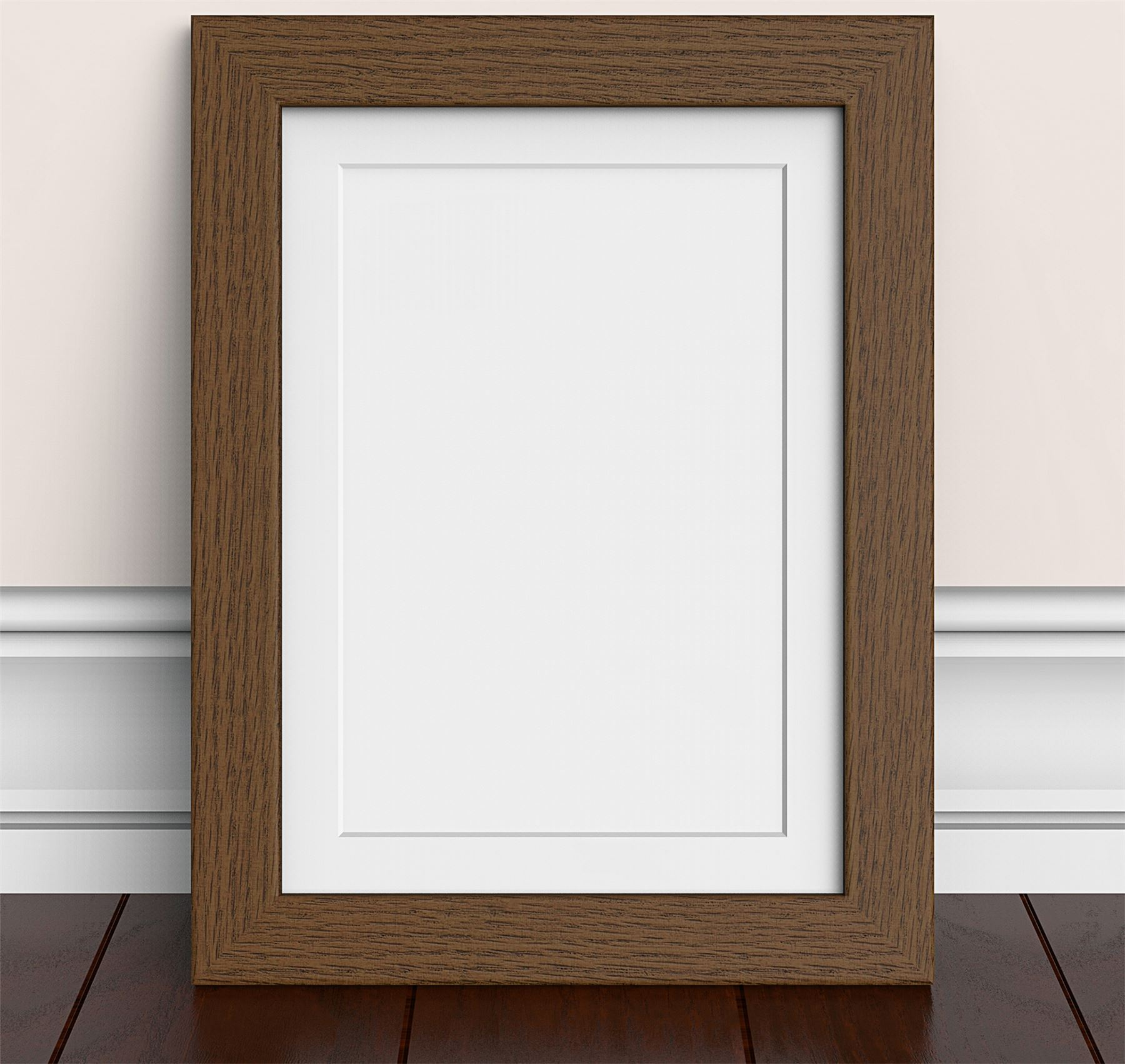 Dark Oak Teak Brown Mahogany Large Photo Picture Frames Poster frame ...