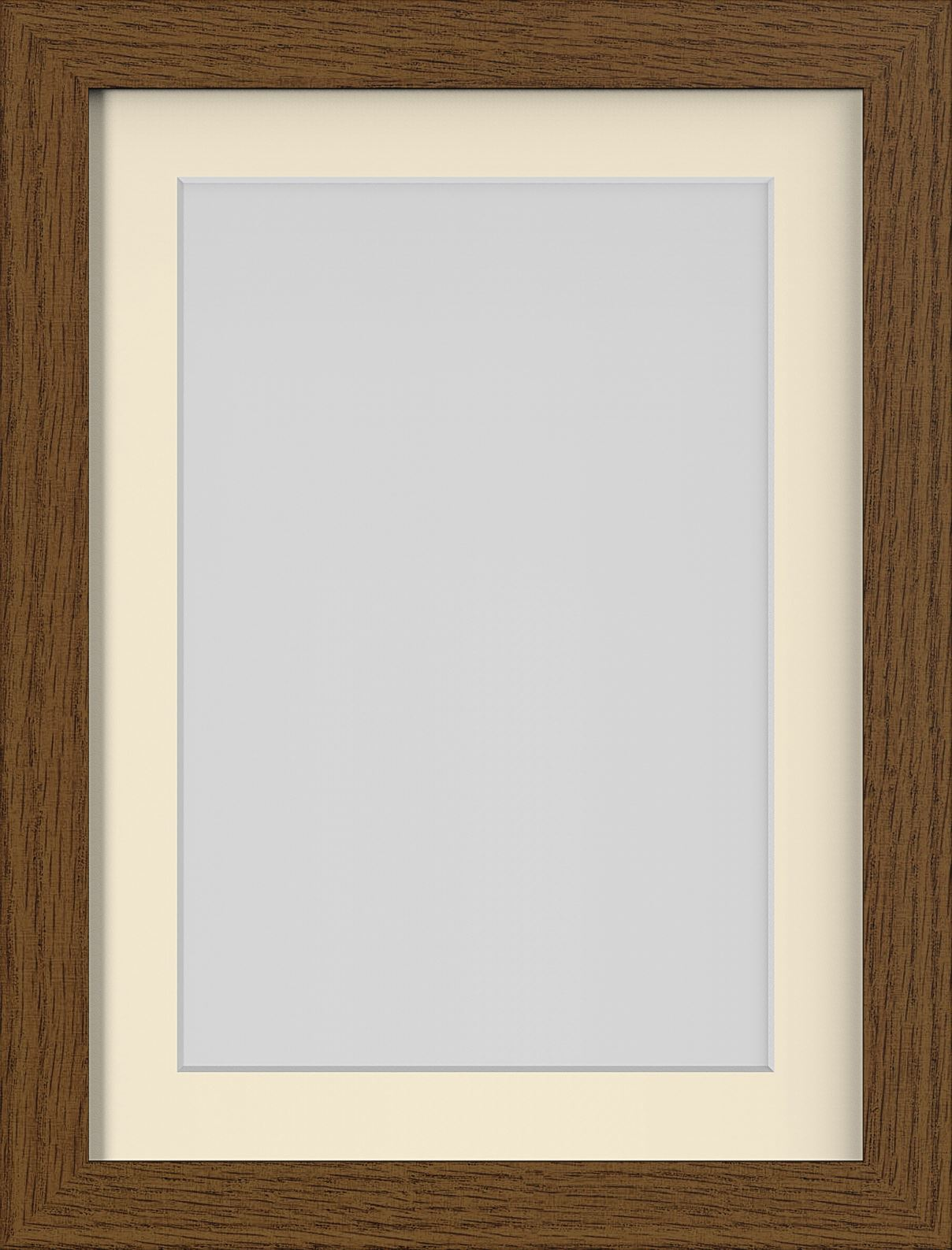 dark oak teak brown mahogany photo picture frames poster