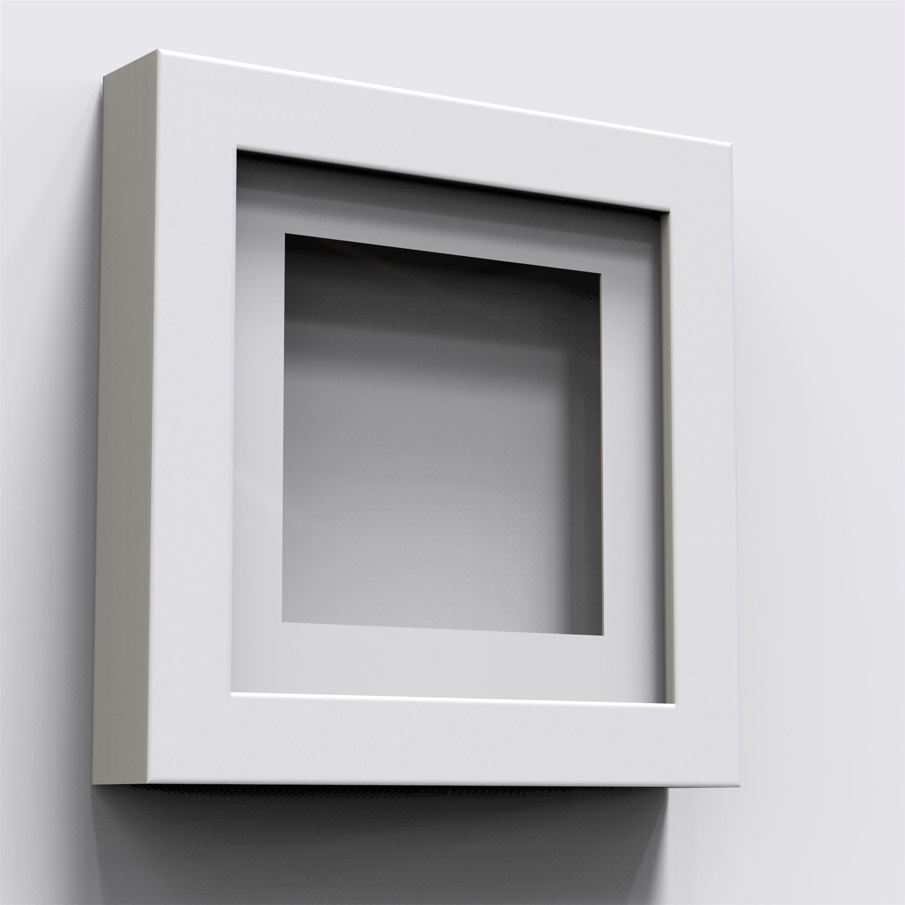 3D Deep Box Picture Frame Display Memory Box Medals Memorabilia ...