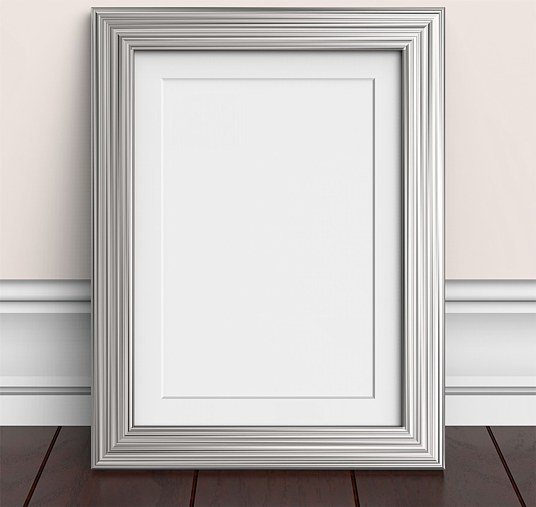 Pewter Pine Pink Beech Photo Picture Frames with Quality White ...
