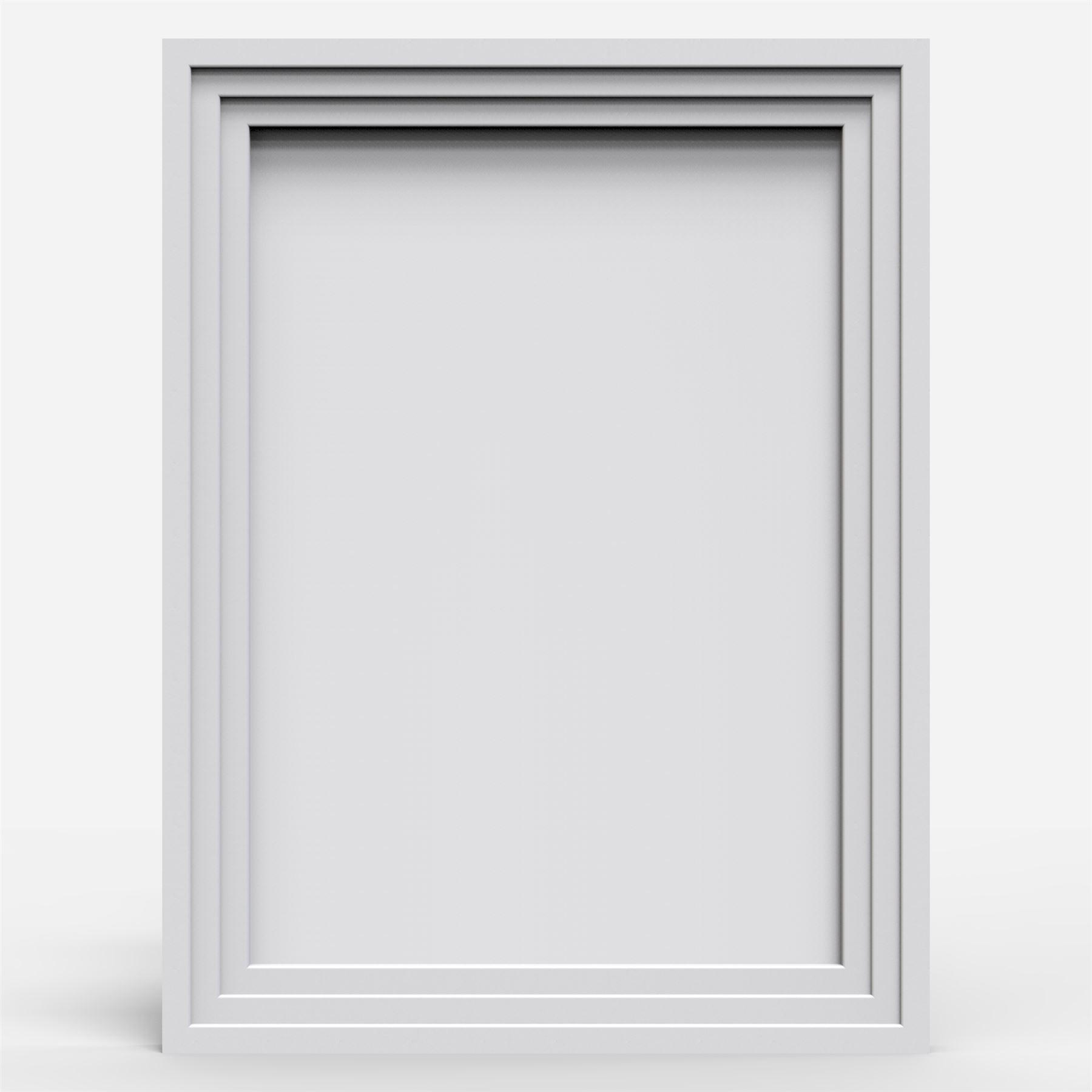 Photo Frame Picture Frames Step Style Black White Oak Large square ...