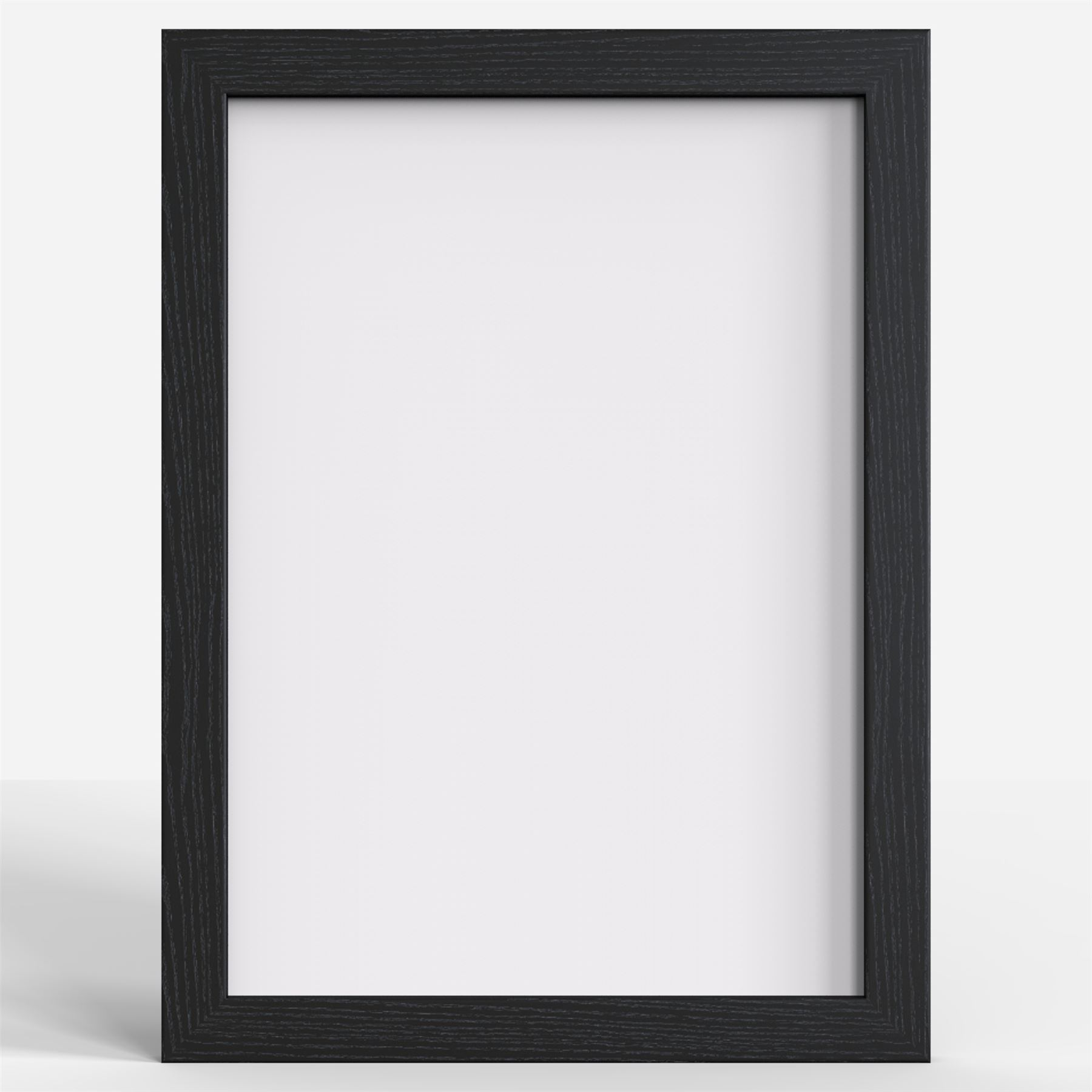 Picture Photo Poster frame Black White Rustic Chrome Multi Sizes A1 ...