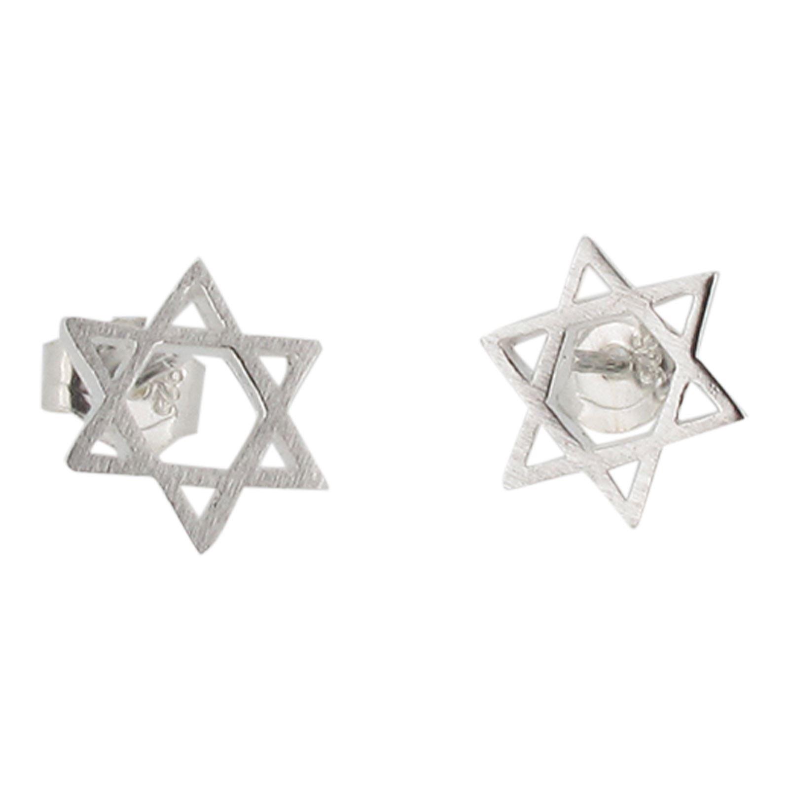 Sterling Silver Celtic Cross Design Stud Earrings by Touch Jewellery925