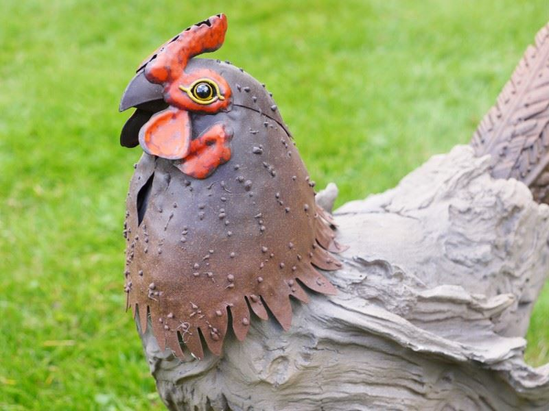 Wildlife Wood Effect Garden Ornaments / Statues | eBay