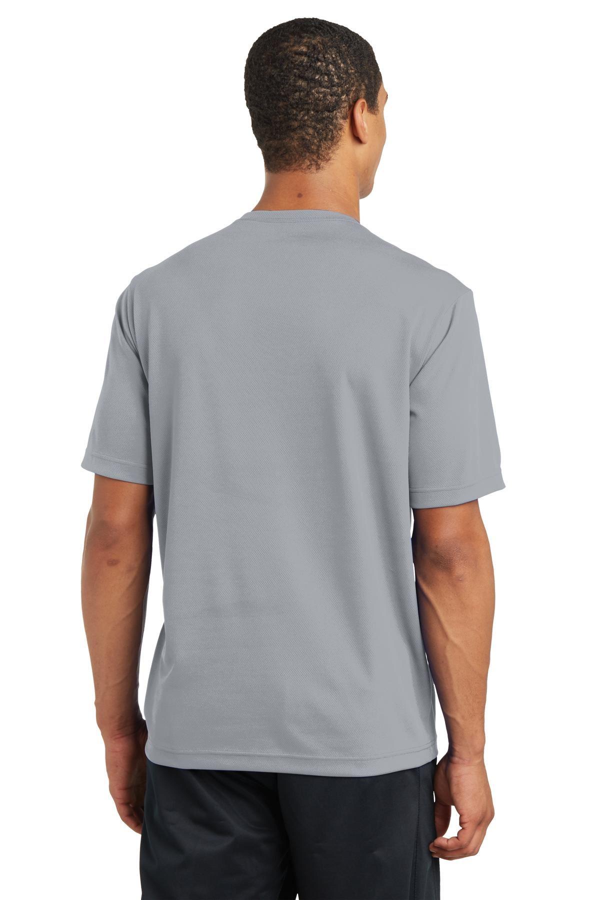 thumbnail 30 - Sport-Tek Men's Dry-Fit RacerMesh Moisture Wicking T-Shirt M-ST340