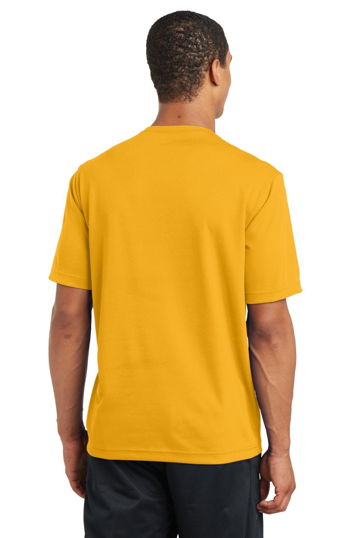 thumbnail 13 - Sport-Tek Men's Dry-Fit RacerMesh Moisture Wicking T-Shirt M-ST340