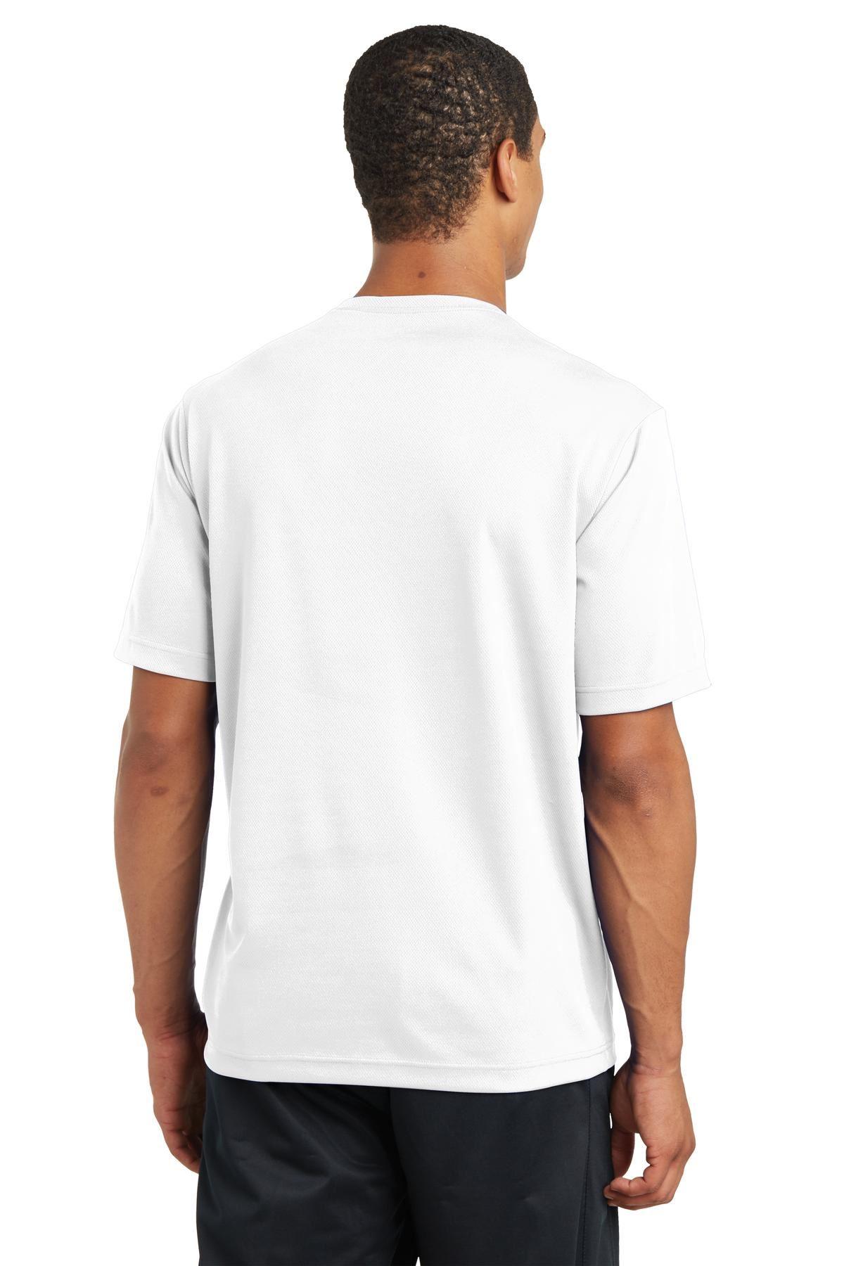 thumbnail 40 - Sport-Tek Men's Dry-Fit RacerMesh Moisture Wicking T-Shirt M-ST340
