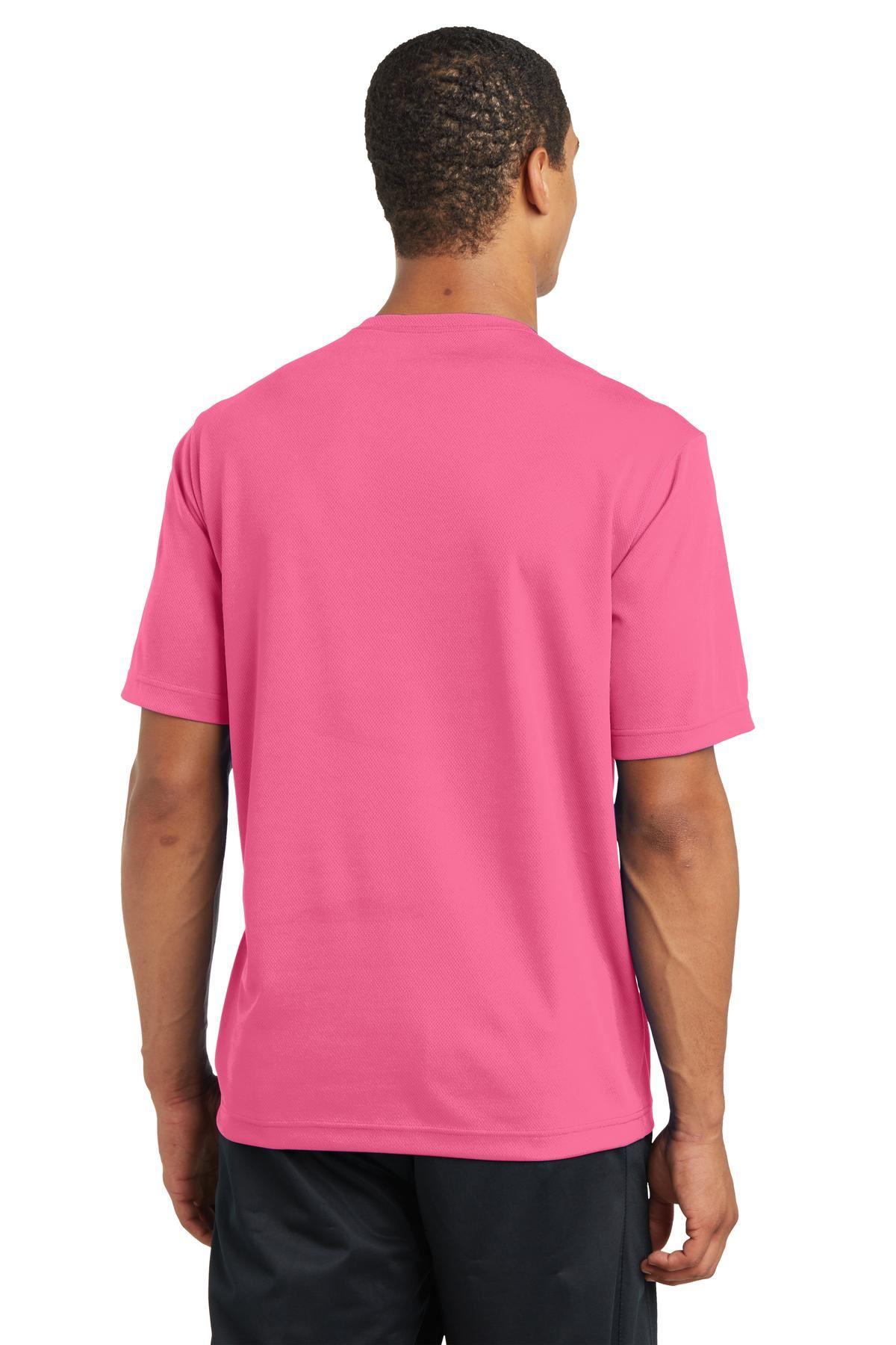 thumbnail 7 - Sport-Tek Men's Dry-Fit RacerMesh Moisture Wicking T-Shirt M-ST340