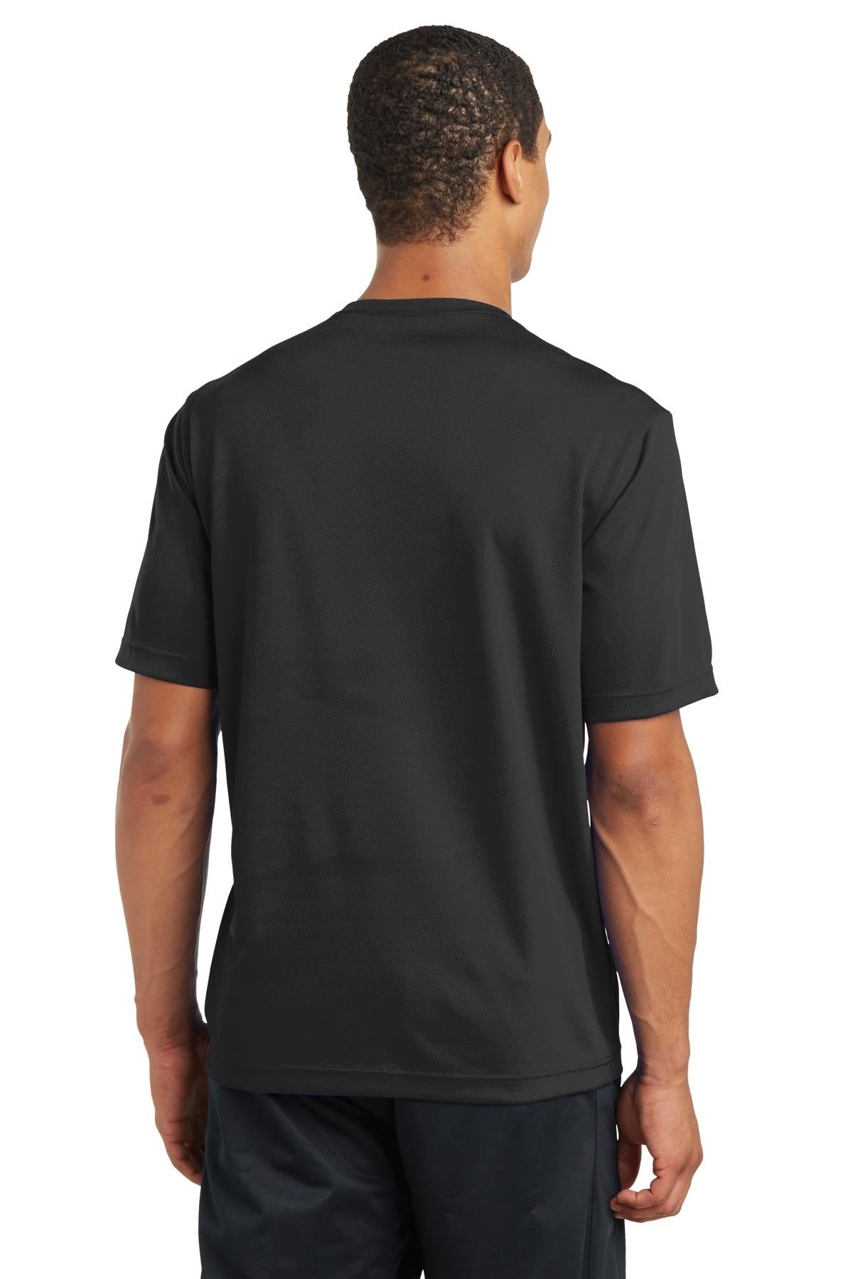 thumbnail 5 - Sport-Tek Men's Dry-Fit RacerMesh Moisture Wicking T-Shirt M-ST340