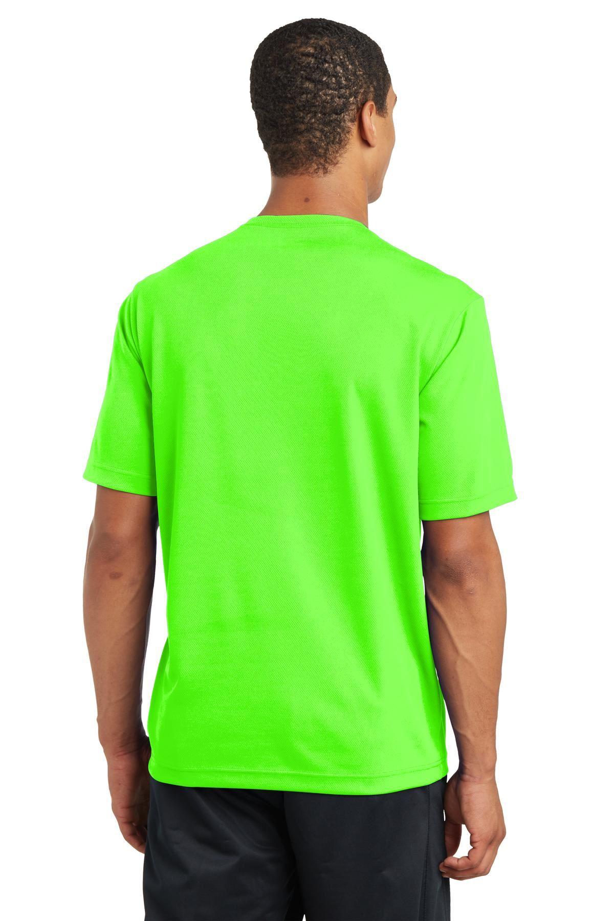 thumbnail 20 - Sport-Tek Men's Dry-Fit RacerMesh Moisture Wicking T-Shirt M-ST340