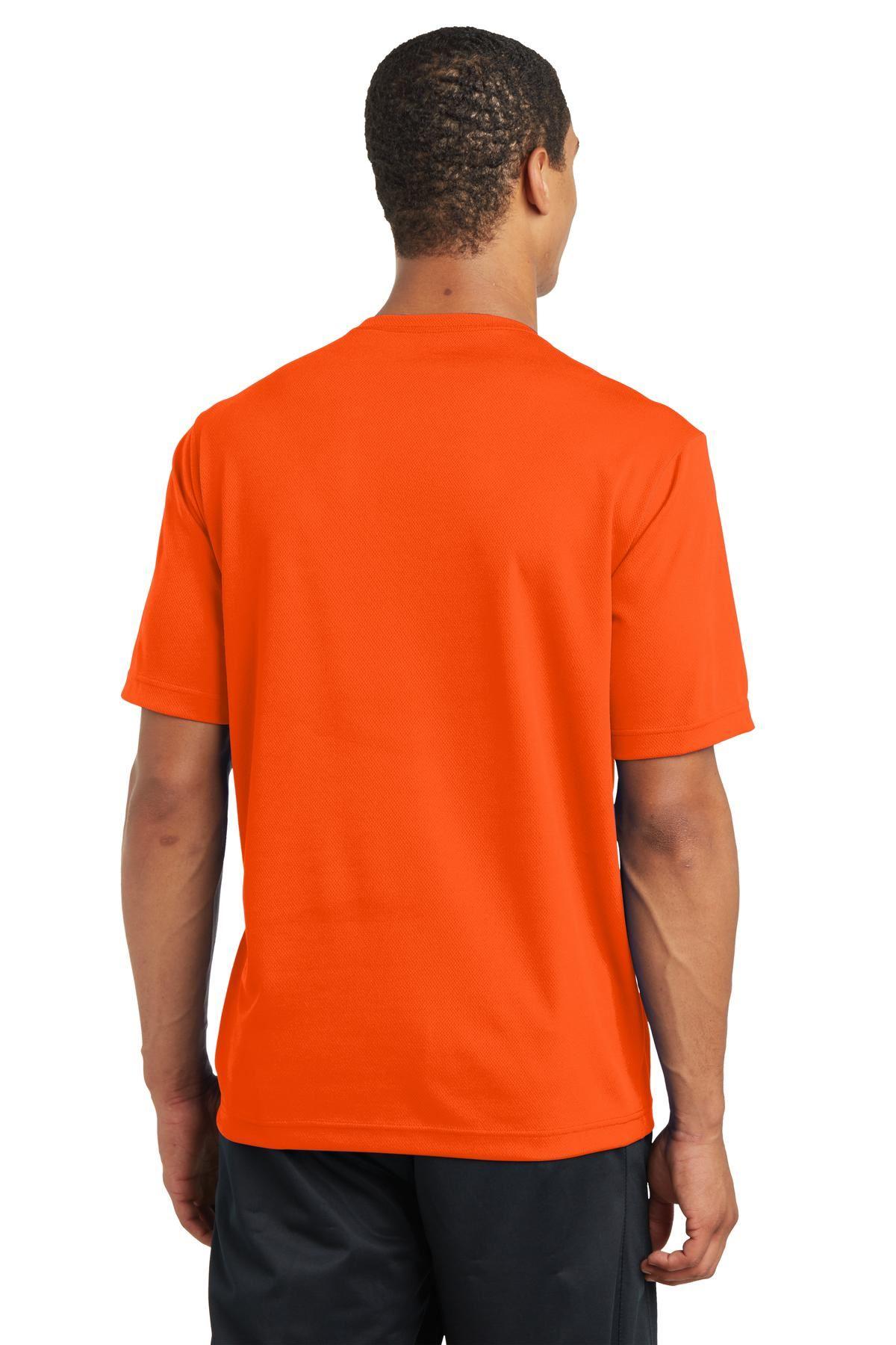 thumbnail 22 - Sport-Tek Men's Dry-Fit RacerMesh Moisture Wicking T-Shirt M-ST340