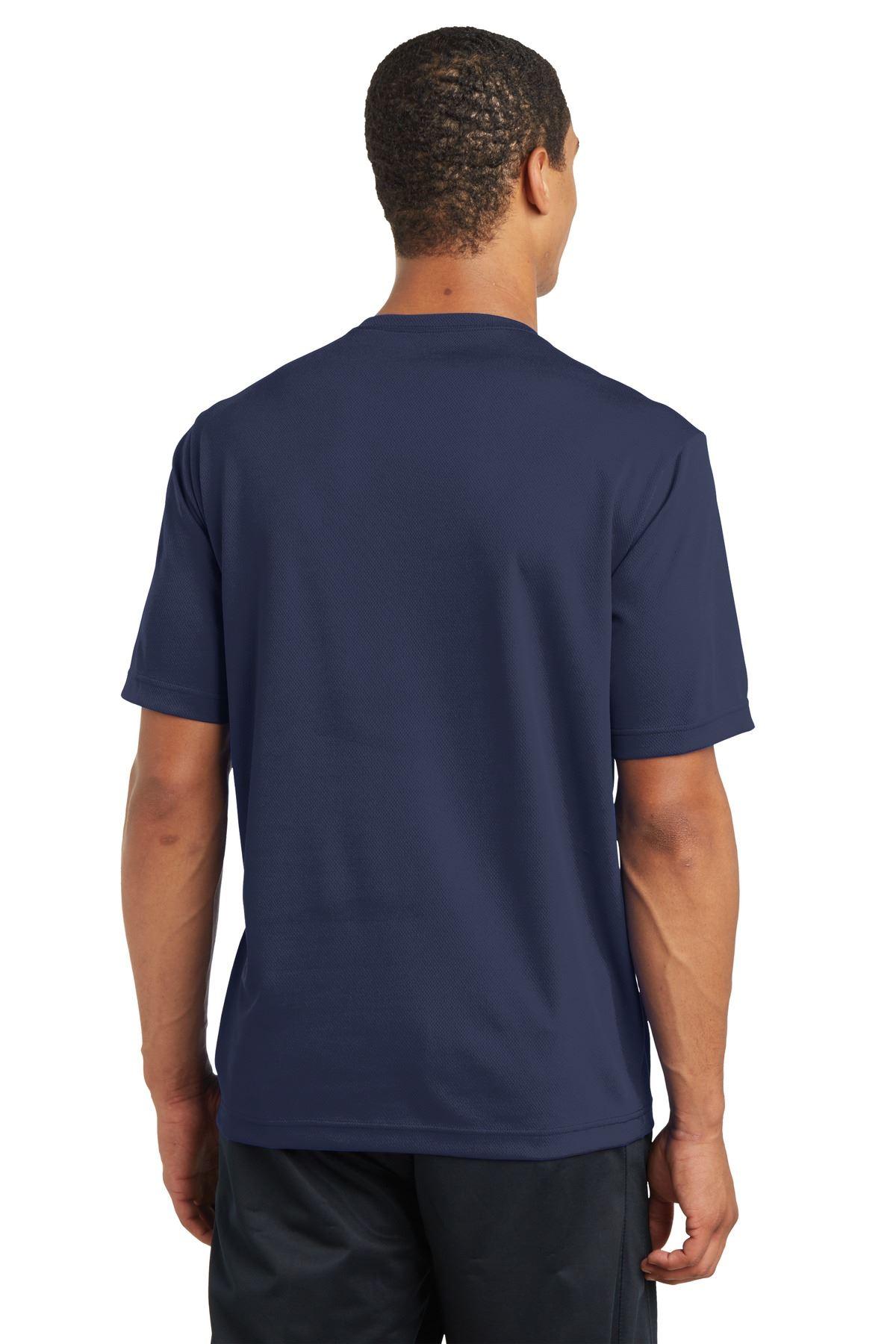 thumbnail 32 - Sport-Tek Men's Dry-Fit RacerMesh Moisture Wicking T-Shirt M-ST340