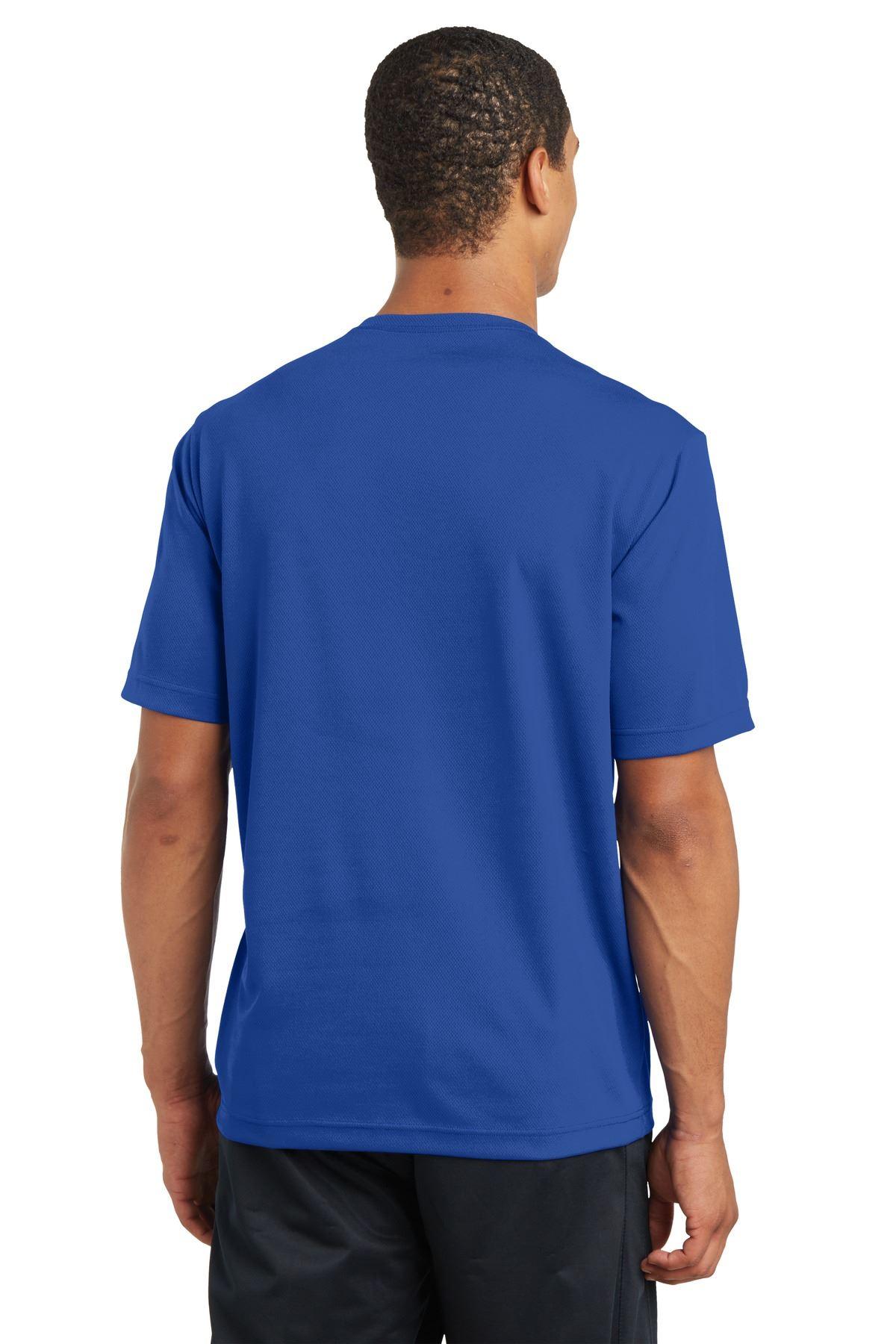 thumbnail 37 - Sport-Tek Men's Dry-Fit RacerMesh Moisture Wicking T-Shirt M-ST340