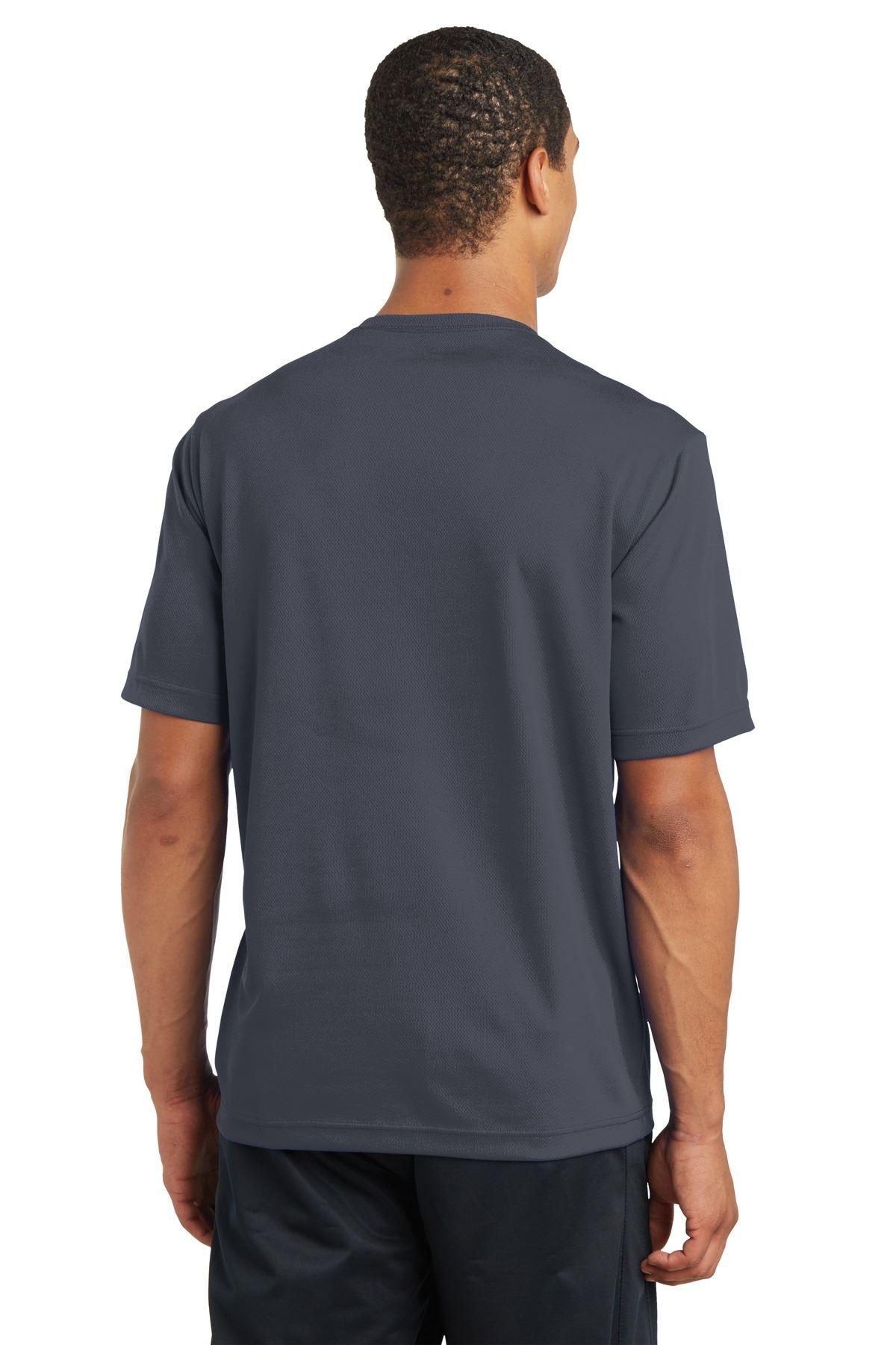 thumbnail 15 - Sport-Tek Men's Dry-Fit RacerMesh Moisture Wicking T-Shirt M-ST340