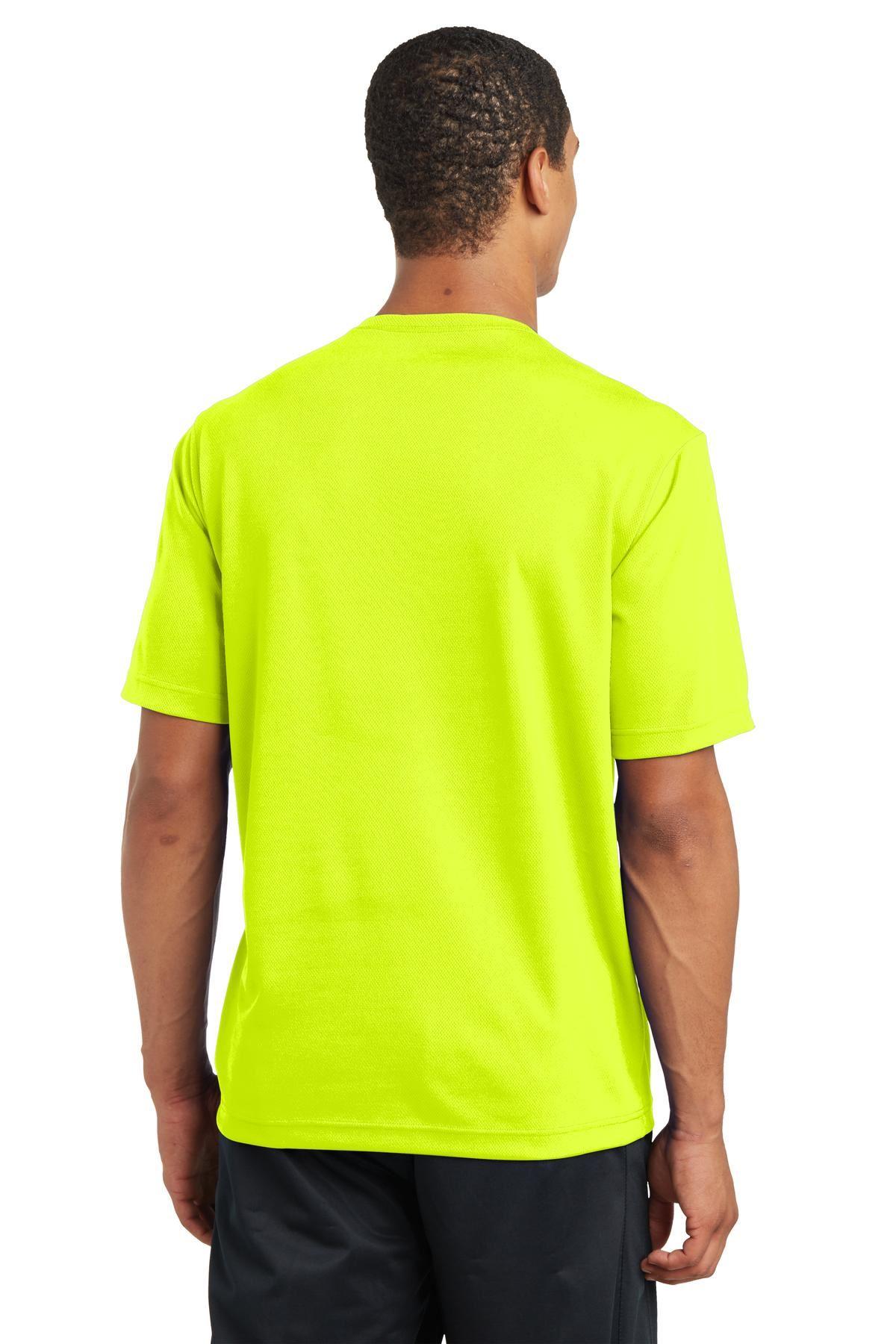thumbnail 24 - Sport-Tek Men's Dry-Fit RacerMesh Moisture Wicking T-Shirt M-ST340