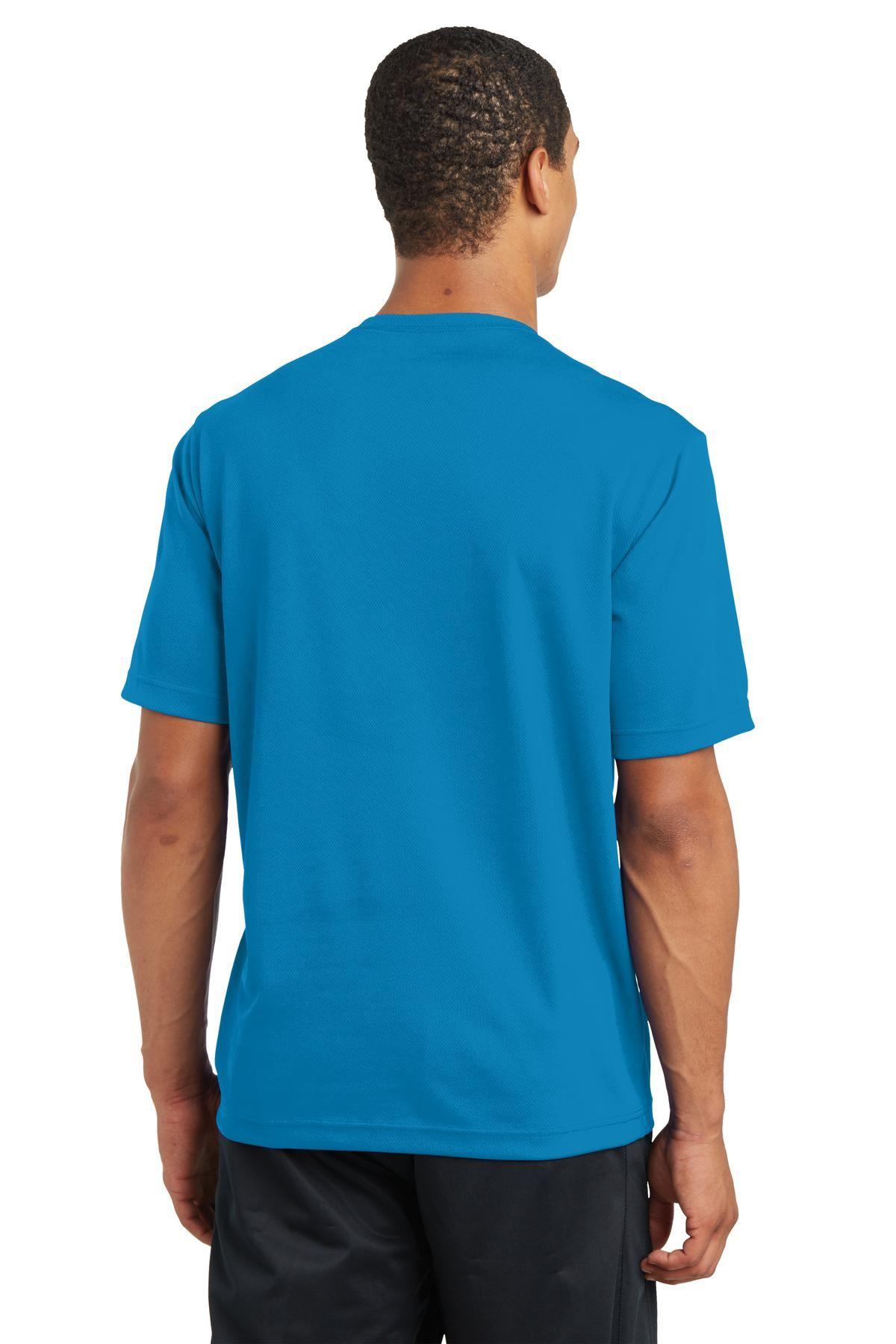 thumbnail 26 - Sport-Tek Men's Dry-Fit RacerMesh Moisture Wicking T-Shirt M-ST340