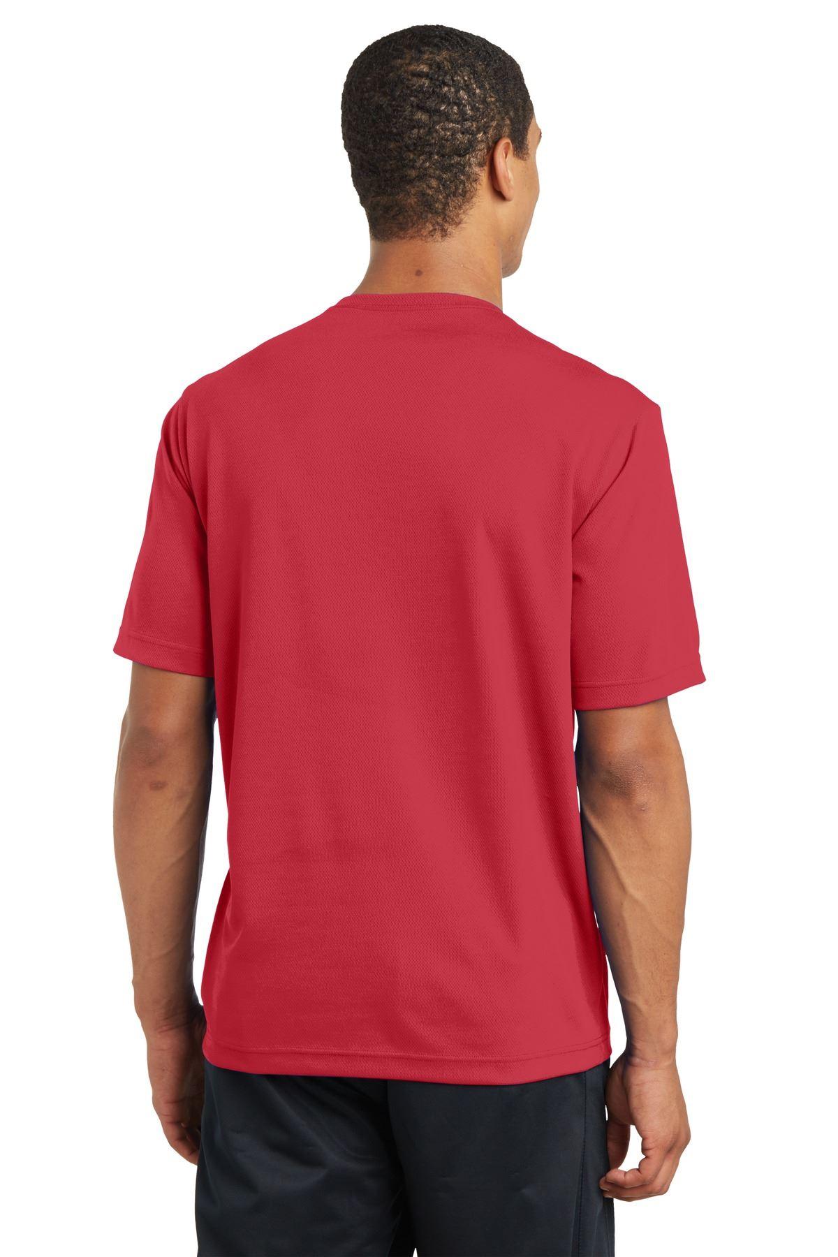 thumbnail 35 - Sport-Tek Men's Dry-Fit RacerMesh Moisture Wicking T-Shirt M-ST340