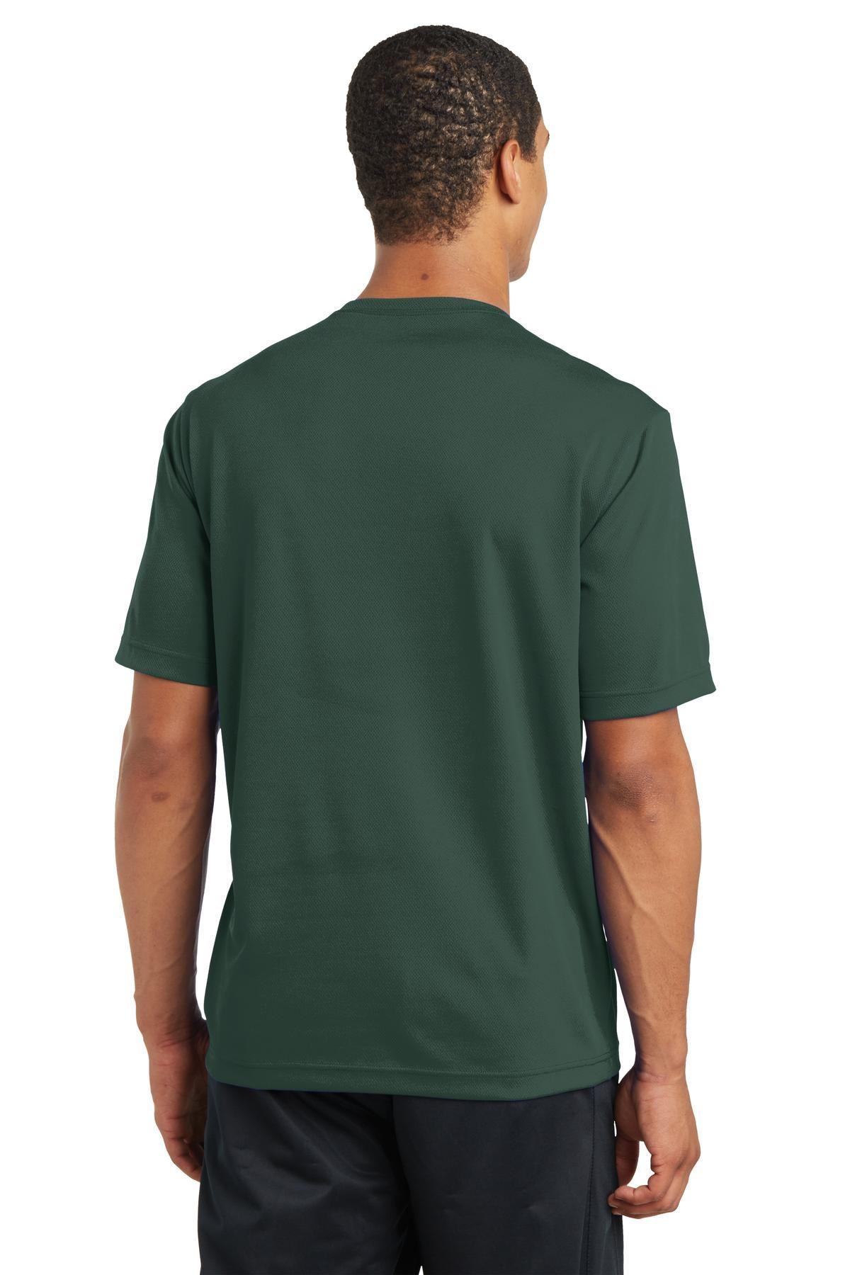 thumbnail 9 - Sport-Tek Men's Dry-Fit RacerMesh Moisture Wicking T-Shirt M-ST340