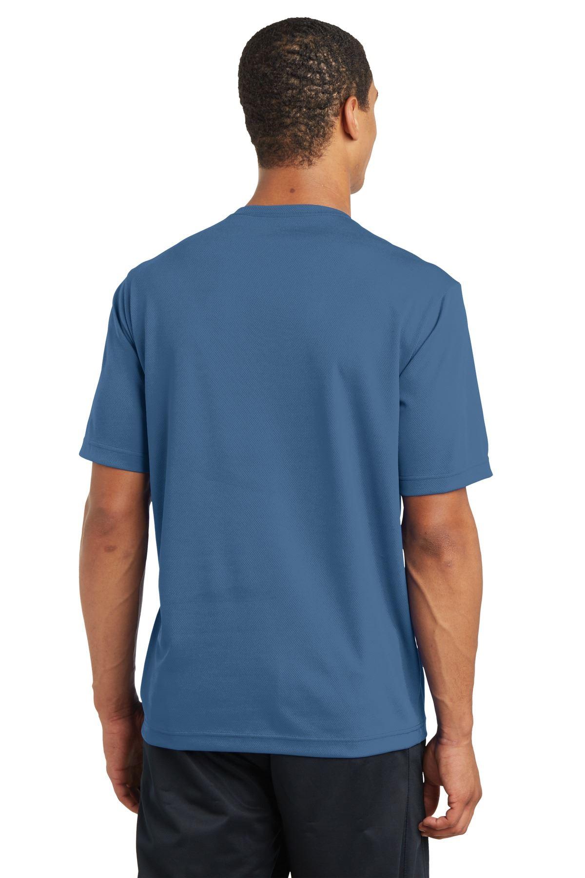 thumbnail 11 - Sport-Tek Men's Dry-Fit RacerMesh Moisture Wicking T-Shirt M-ST340