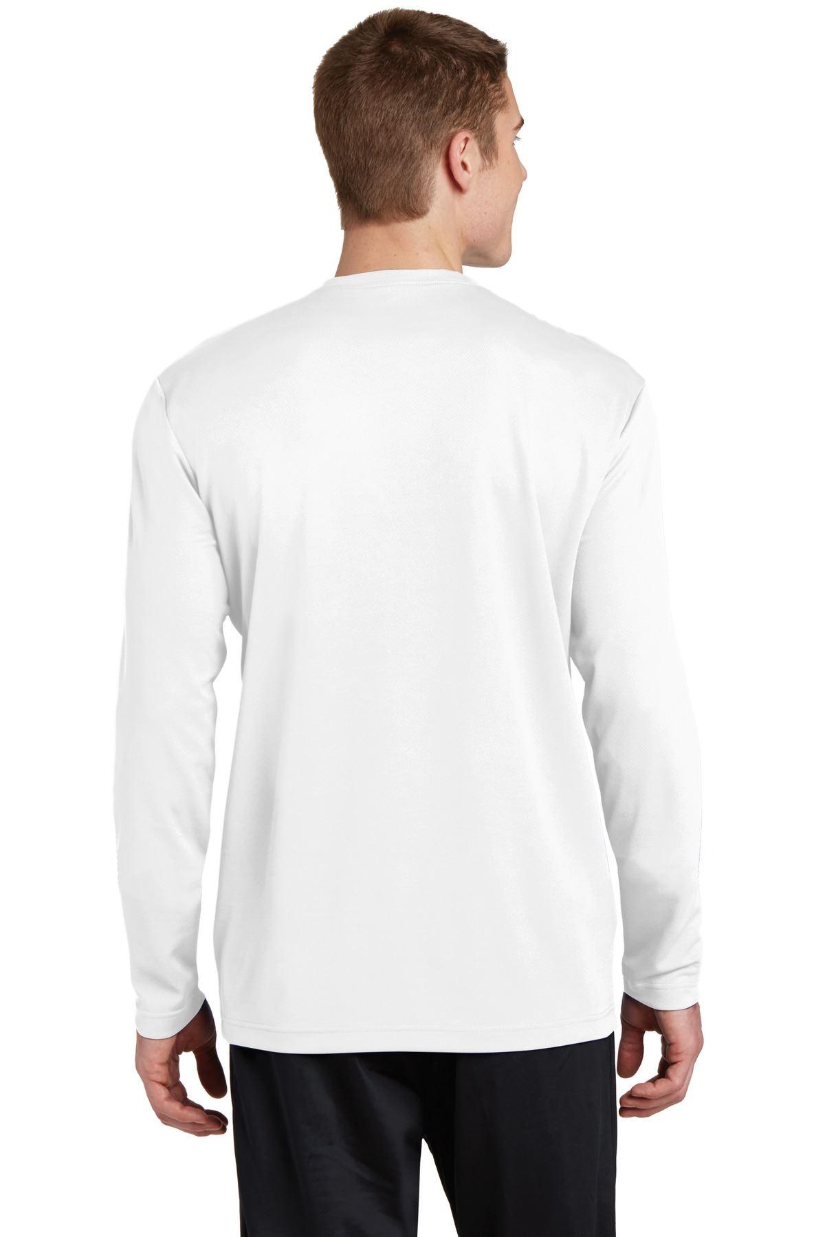 thumbnail 25 - Sport-Tek Men's Dry-Fit RacerMesh Moisture Wicking Long Sleeve T-Shirt ST340LS