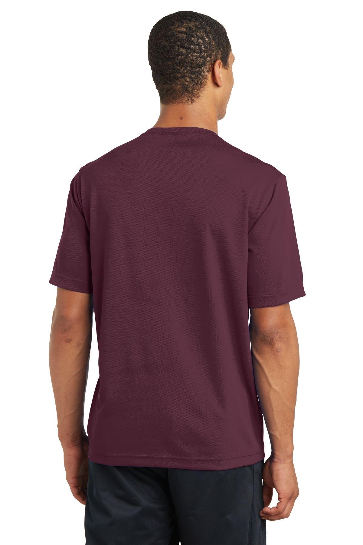 thumbnail 18 - Sport-Tek Men's Dry-Fit RacerMesh Moisture Wicking T-Shirt M-ST340