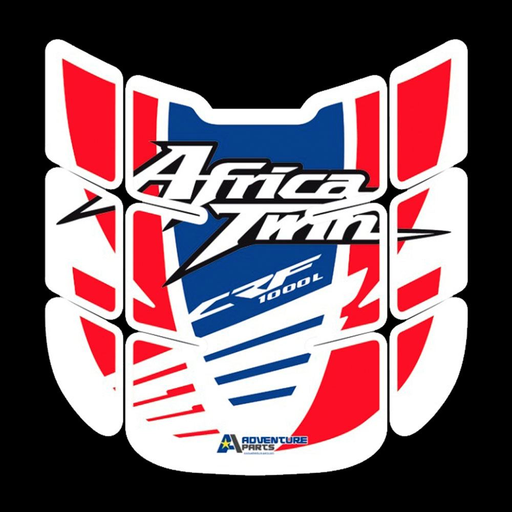 Details about motorcycle tank pad decals stickers graphics to fit honda africa twin crf1000l