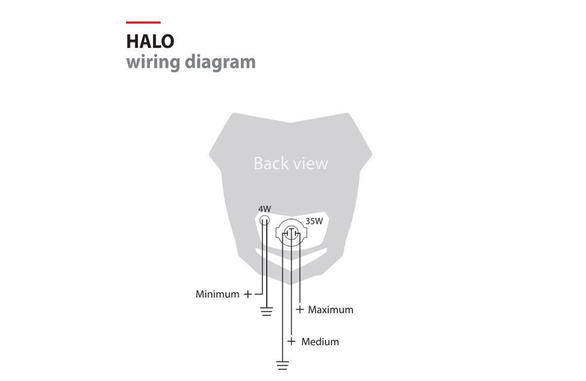 Polisport Halo Crf 230 Wiring Diagram Simple Headlight Logo Decal Grapic Fits Yamaha Wr426 F Np