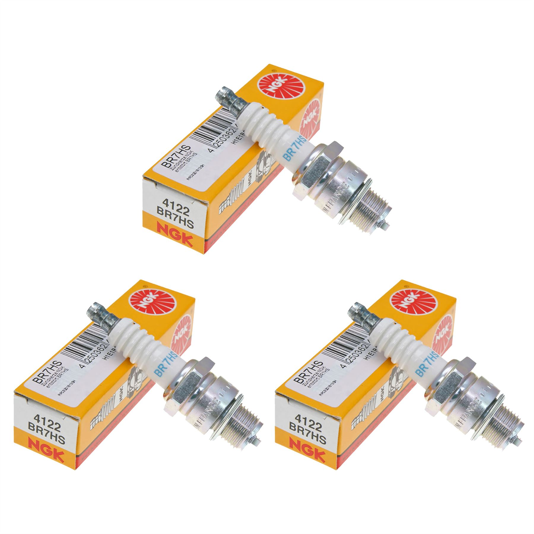 NGK Spark Plug Single Piece Pack for Stock Number 3922 or Copper Core Part No BR6HS