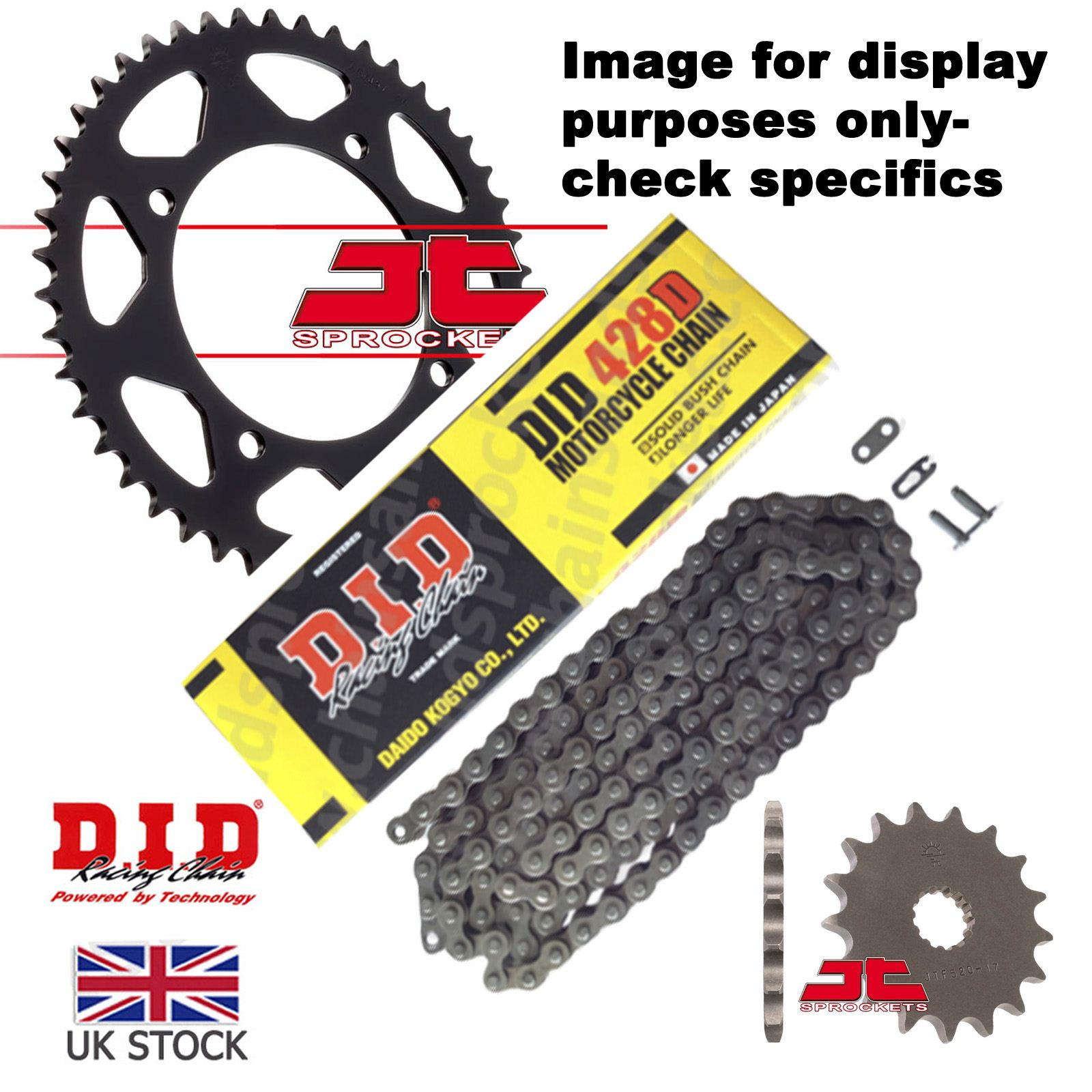 DID STD Drive Chain 428D 146 links fits Daelim 125 Roadwin 04-07