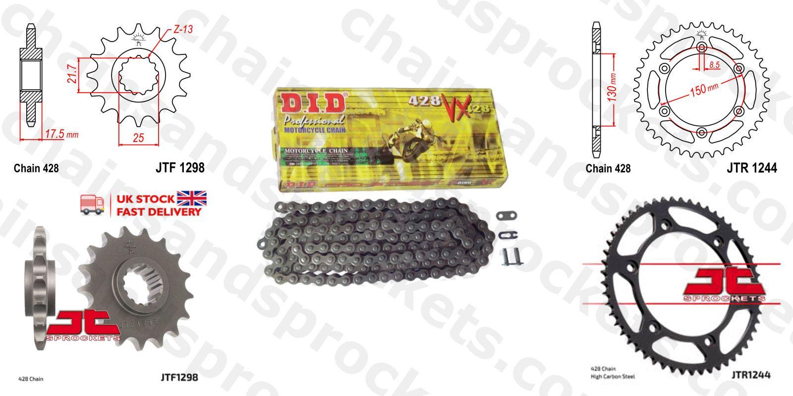 Honda CB1100 SF X11 2000 Gold XRing Chain and Sprocket Kit