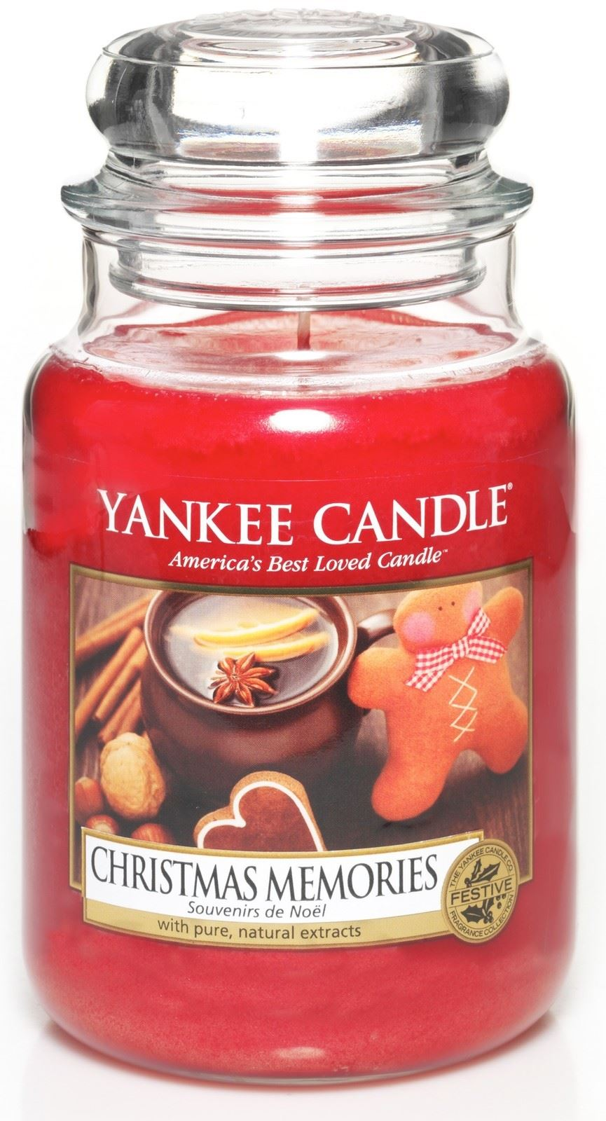Yankee Candle Christmas 2017 Festive Large Jar Classic Housewarmer ...