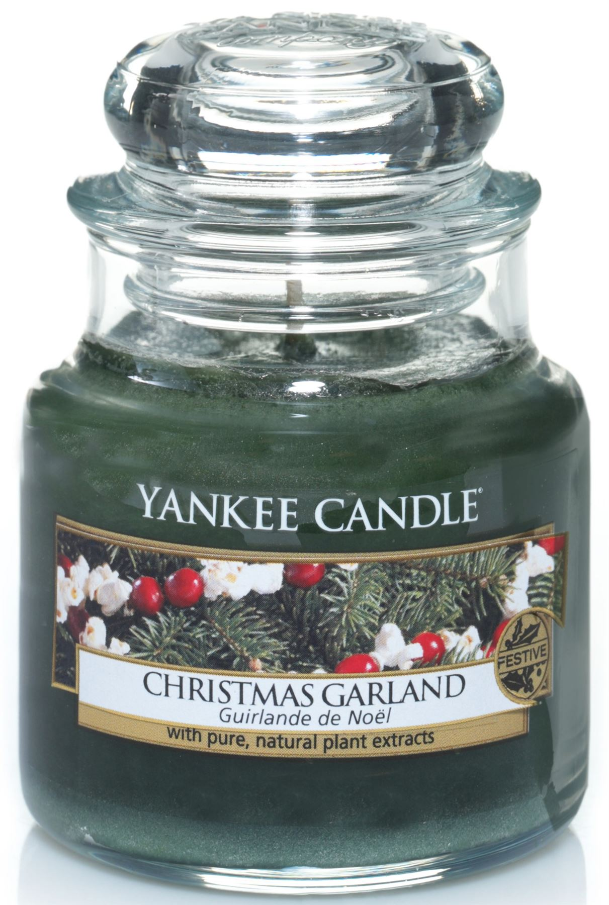 Yankee Home For The Holidays Small Jar