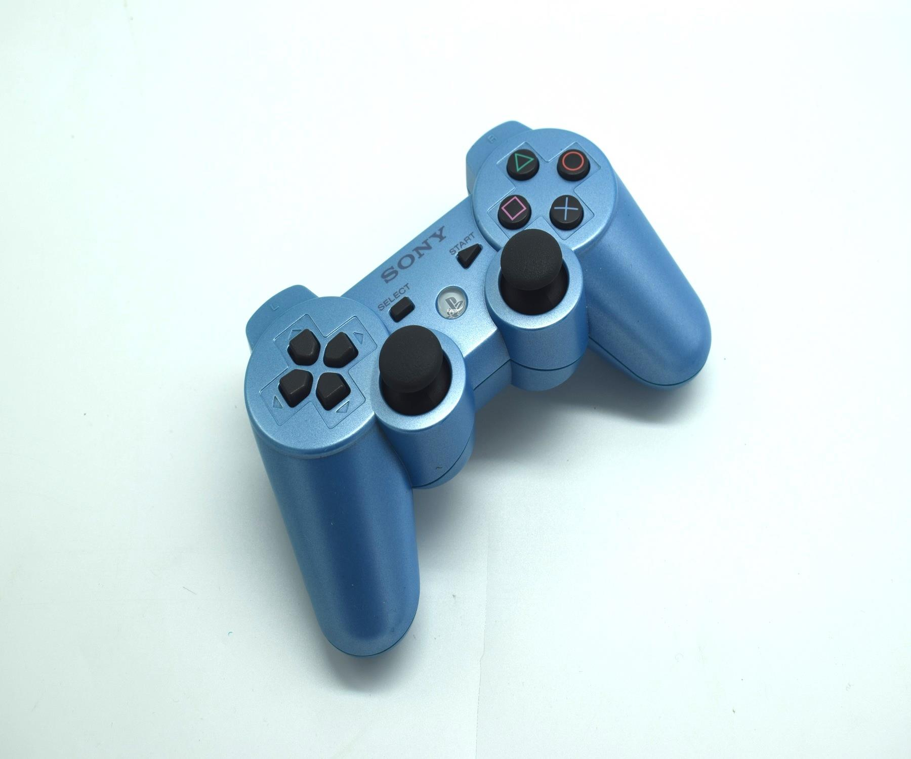 Official-Original-Sony-Playstation-Dual-Shock-3-PS3-Controller-Multiple-Colours thumbnail 14