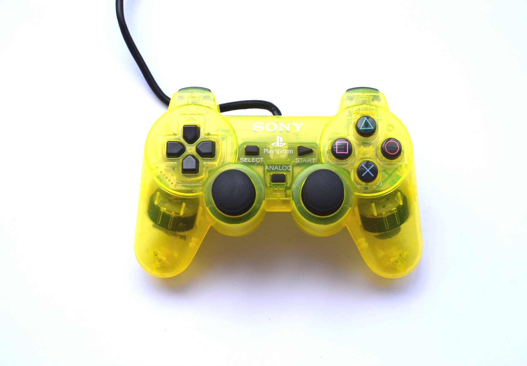 Original-Official-Sony-Dual-Shock-2-PS2-Wired-Controller-Pad-Multiple-Colours thumbnail 47