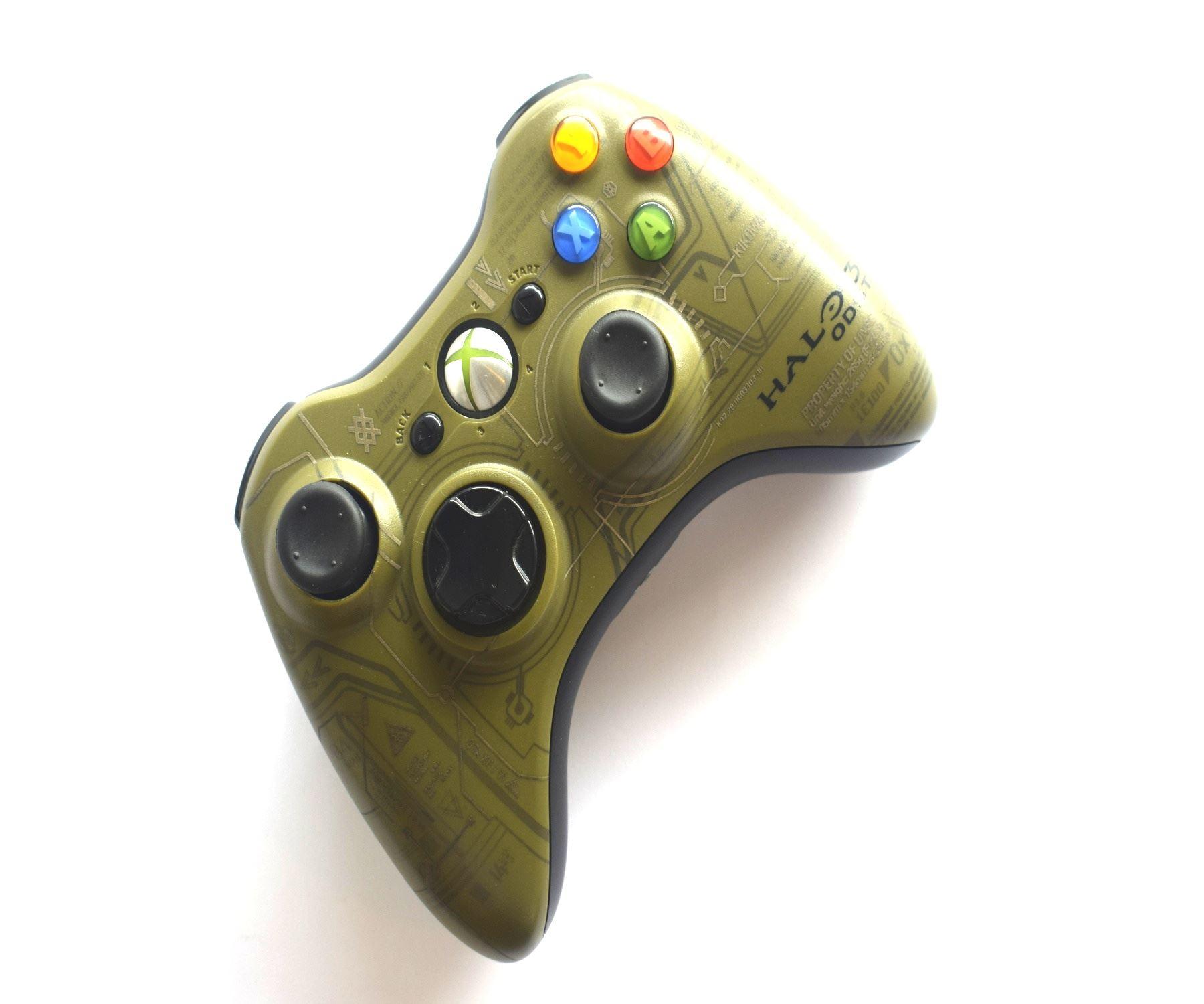 Official-Original-Genuine-Microsoft-Xbox-360-Controller-Pads-Various-Colours thumbnail 30