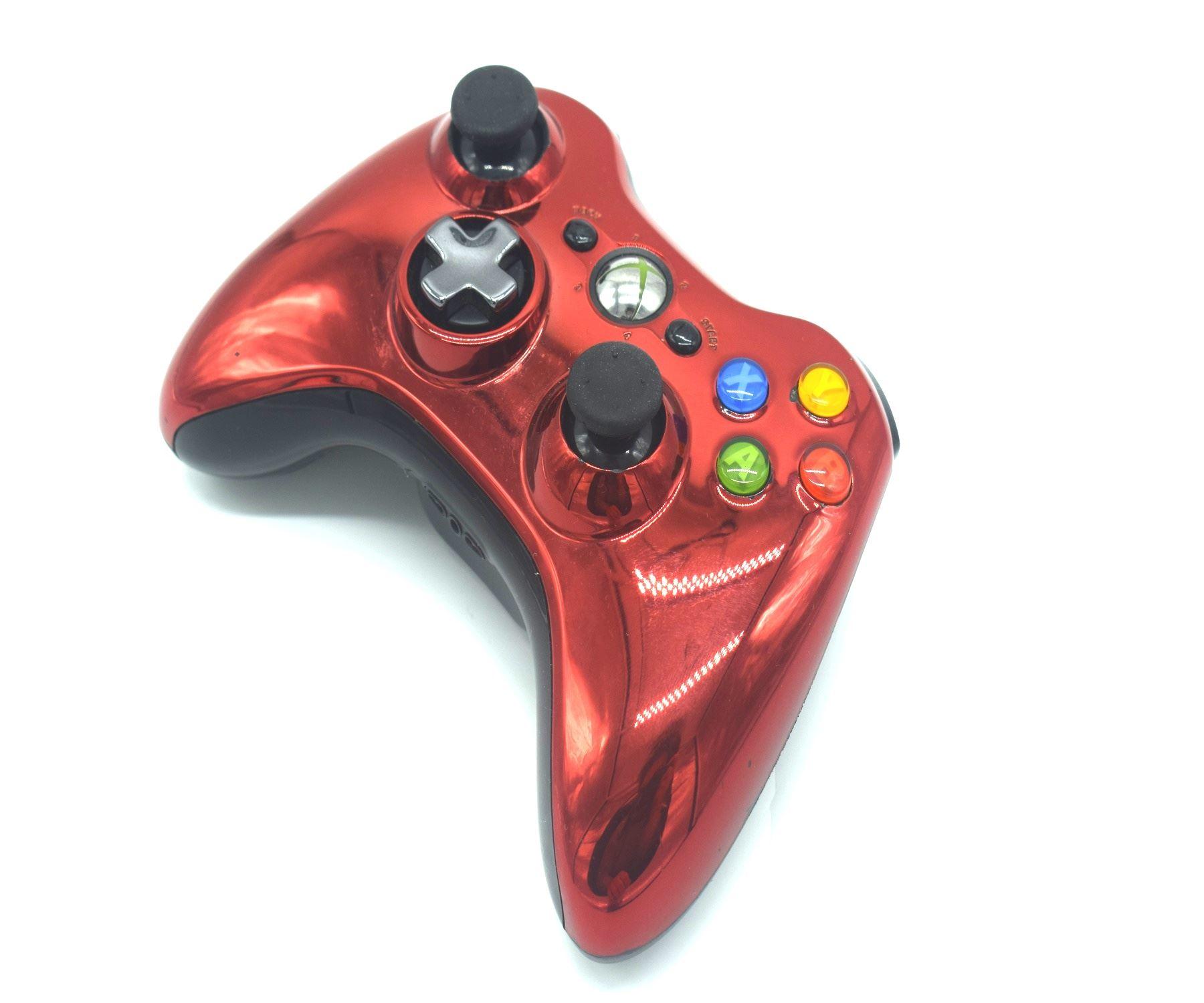 Official-Original-Genuine-Microsoft-Xbox-360-Controller-Pads-Various-Colours thumbnail 25