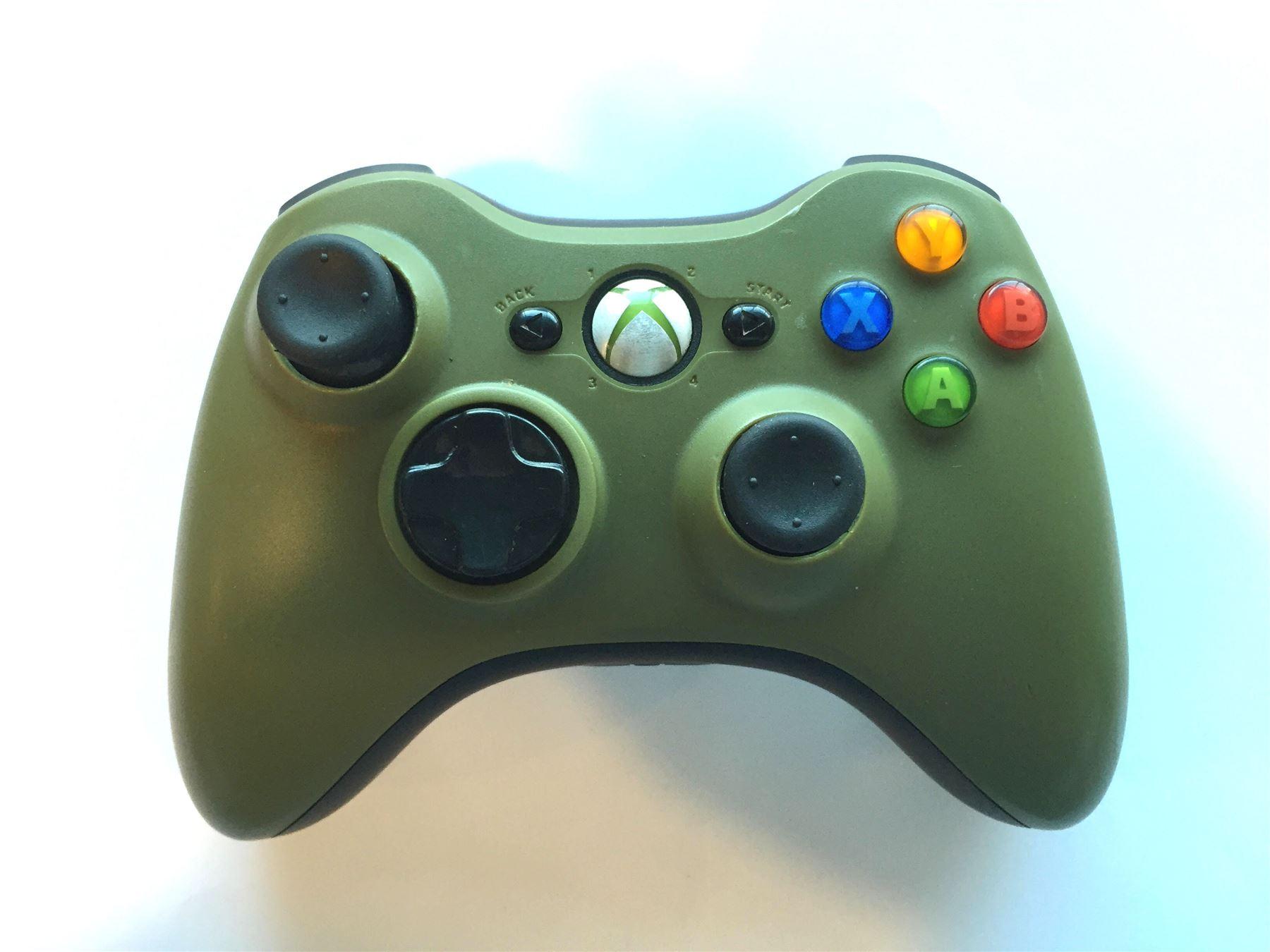 Official-Original-Genuine-Microsoft-Xbox-360-Controller-Pads-Various-Colours thumbnail 41