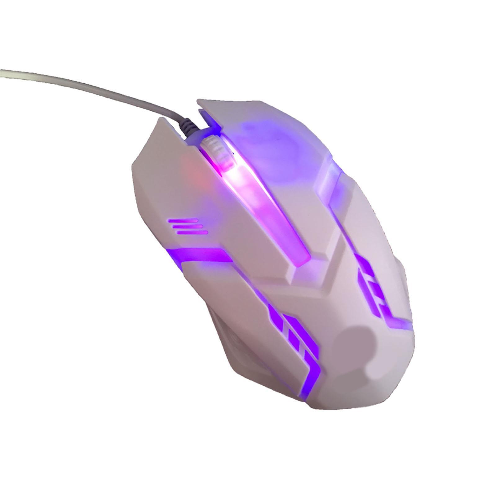 Gaming-Keyboard-Mouse-Backlit-Rainbow-LED-USB-Set-for-PC-Laptop-PS4-Xbox-One thumbnail 30