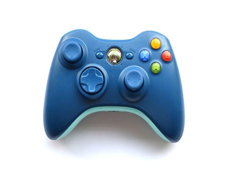 Official-Original-Genuine-Microsoft-Xbox-360-Controller-Pads-Various-Colours thumbnail 12